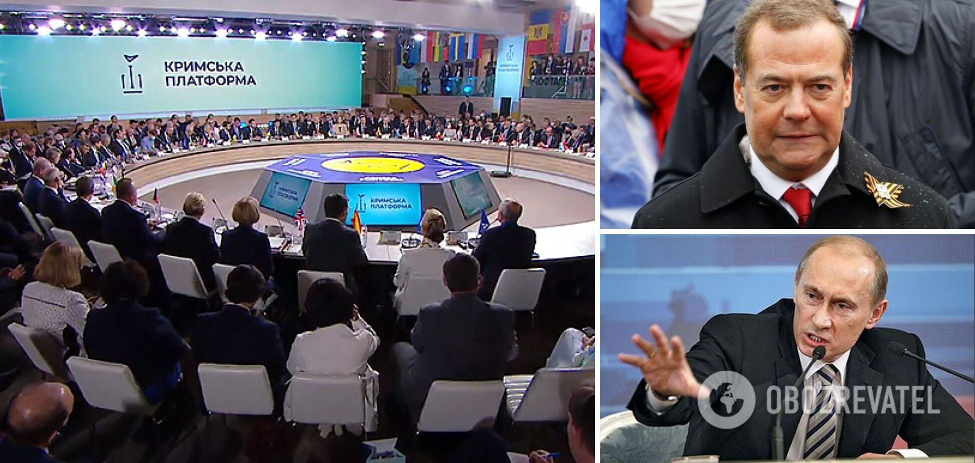 Медведєв, 'Кримська платформа' і доля злодіїв міжнародного масштабу