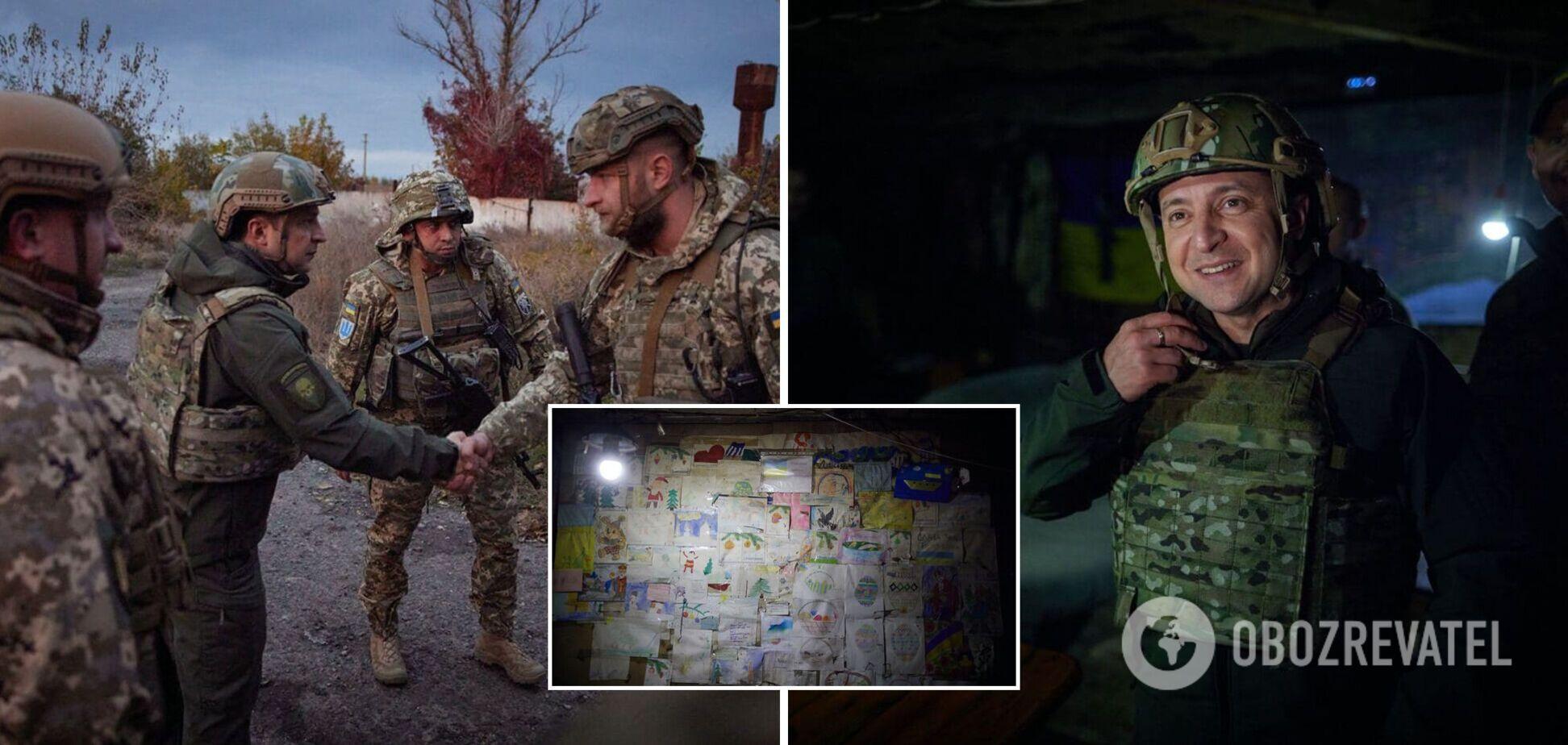 Зеленський прибув на Донбас у межах робочої поїздки