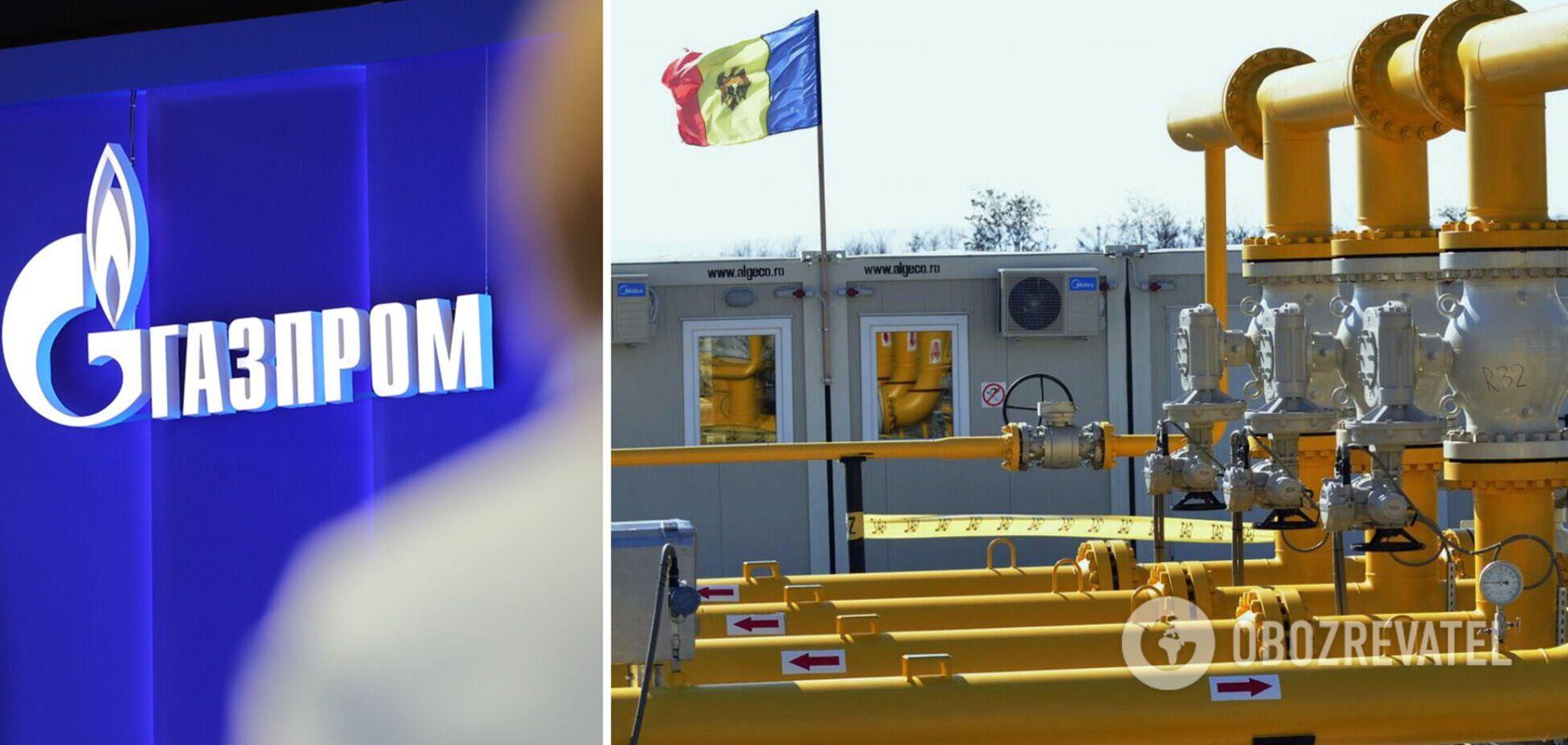 Молдова страждає від дефіциту газу через відсутність контракту з 'Газпромом'
