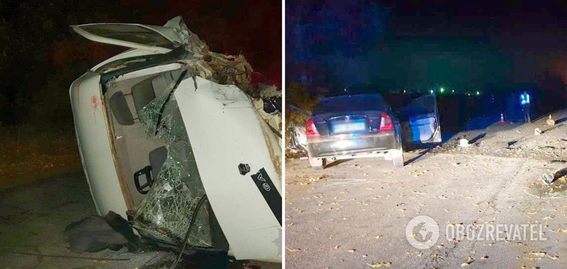 На Полтавщині авто вилетіло на зустрічну та влаштувало ДТП, є загиблий. Фото і відео