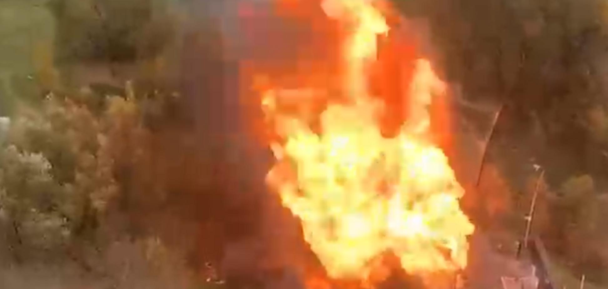 У Москві вибухнула газова підстанція