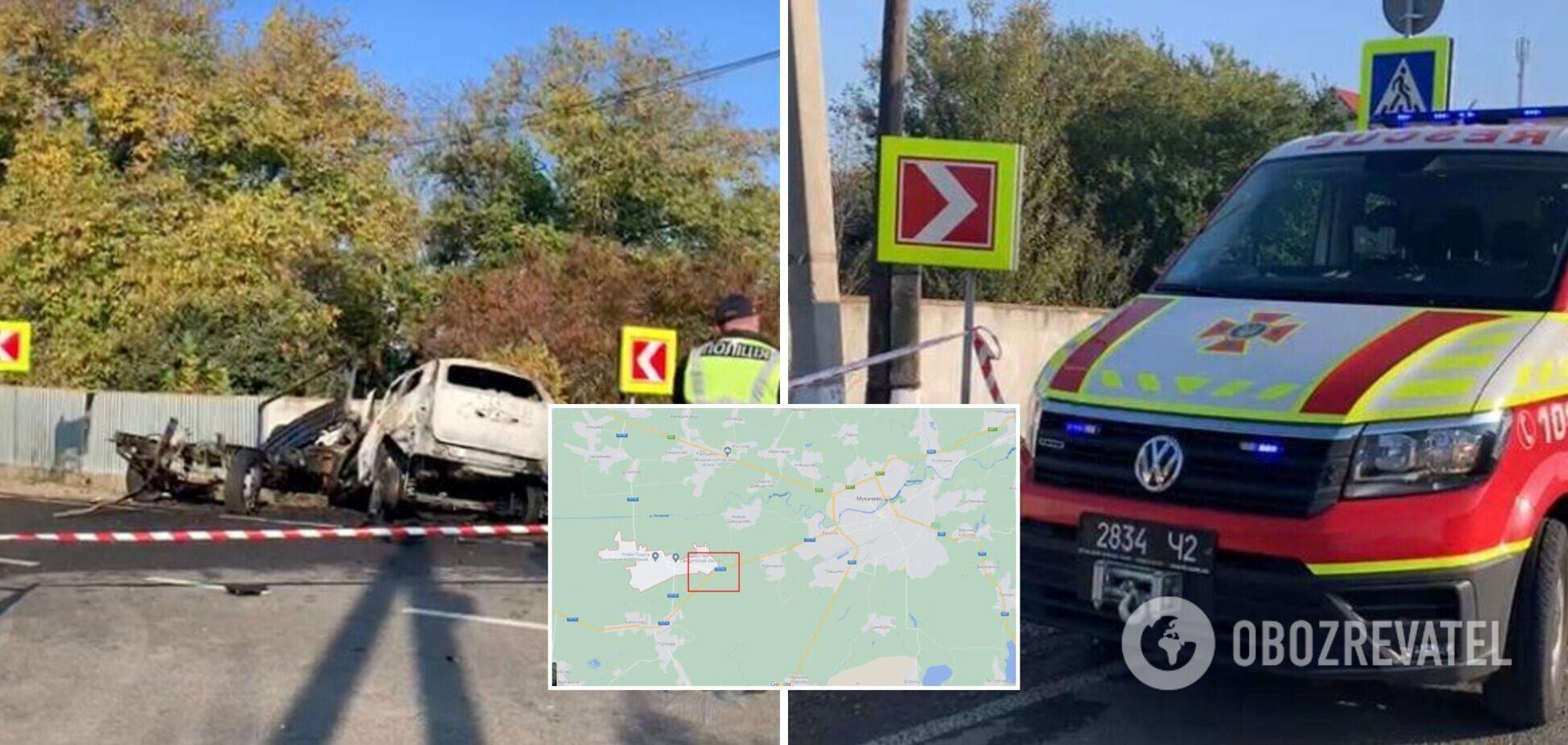 Сгорели заживо в авто: на Закарпатье в ДТП погибли патрульный, военный и две девушки. Фото и видео