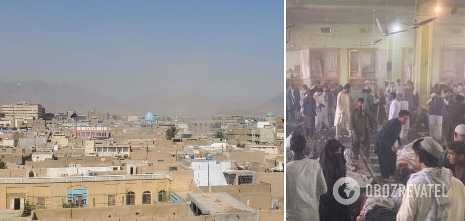 В Афганистане прогремел мощный взрыв в мечети: десятки людей погибли, много раненых