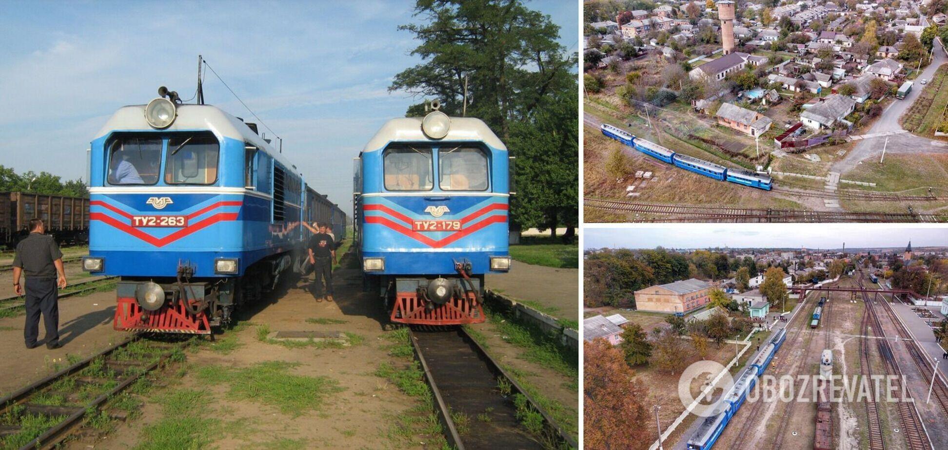 Вузькоколійка Гайворон – Рудниця знову з поїздом