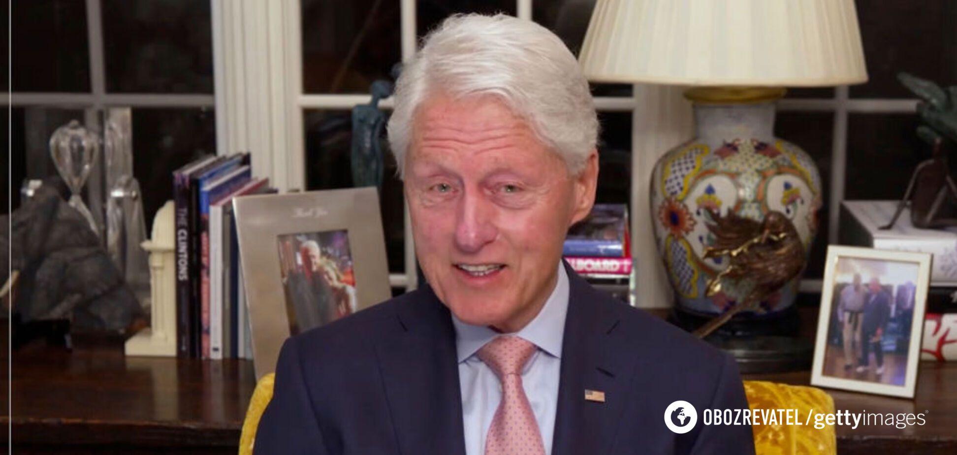 Експрезидент США Білл Клінтон потрапив до лікарні: медики розповіли про його стан