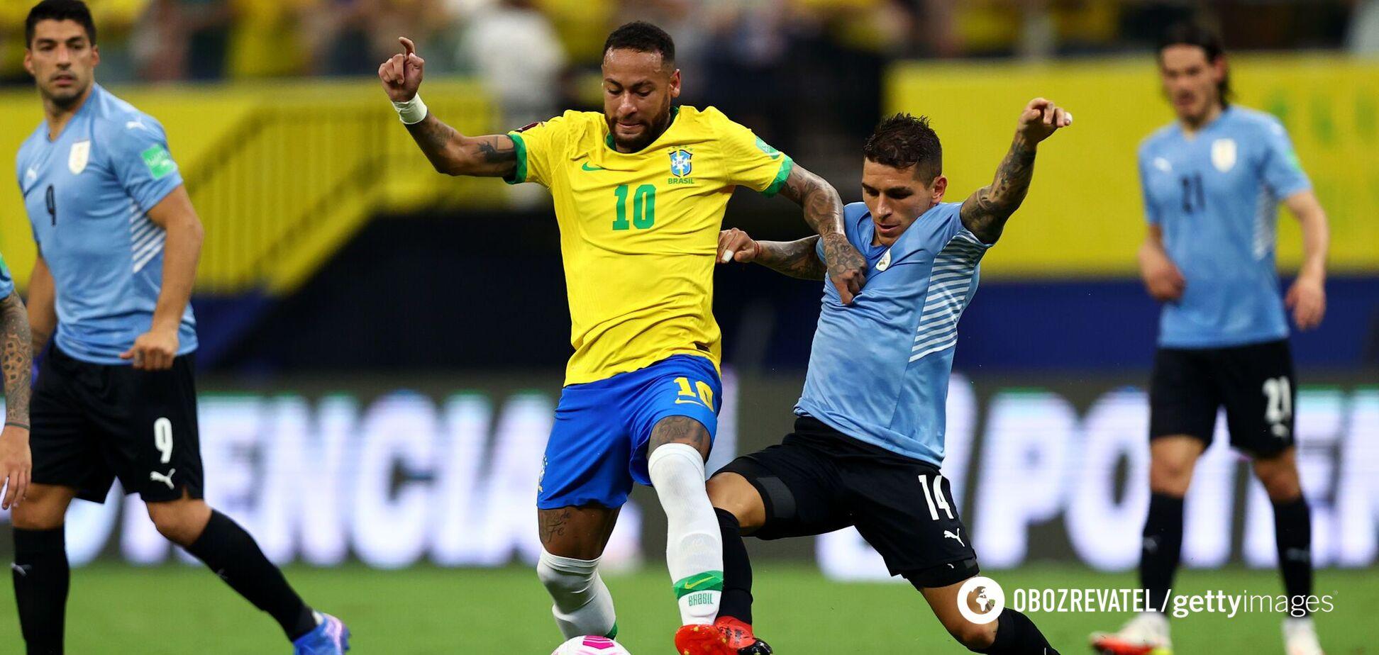 Неймар і Суарес обмінялися голами, Аргентина з Мессі перемогла у відборі ЧС. Відео