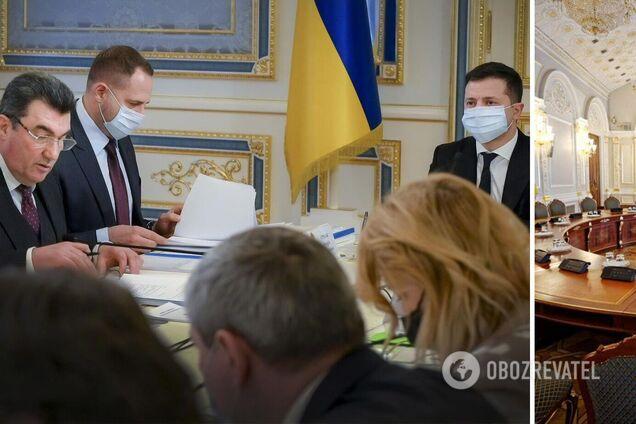 СНБО впервые утвердил план обороны Украины и ввел новые санкции: итоги заседания. Видео