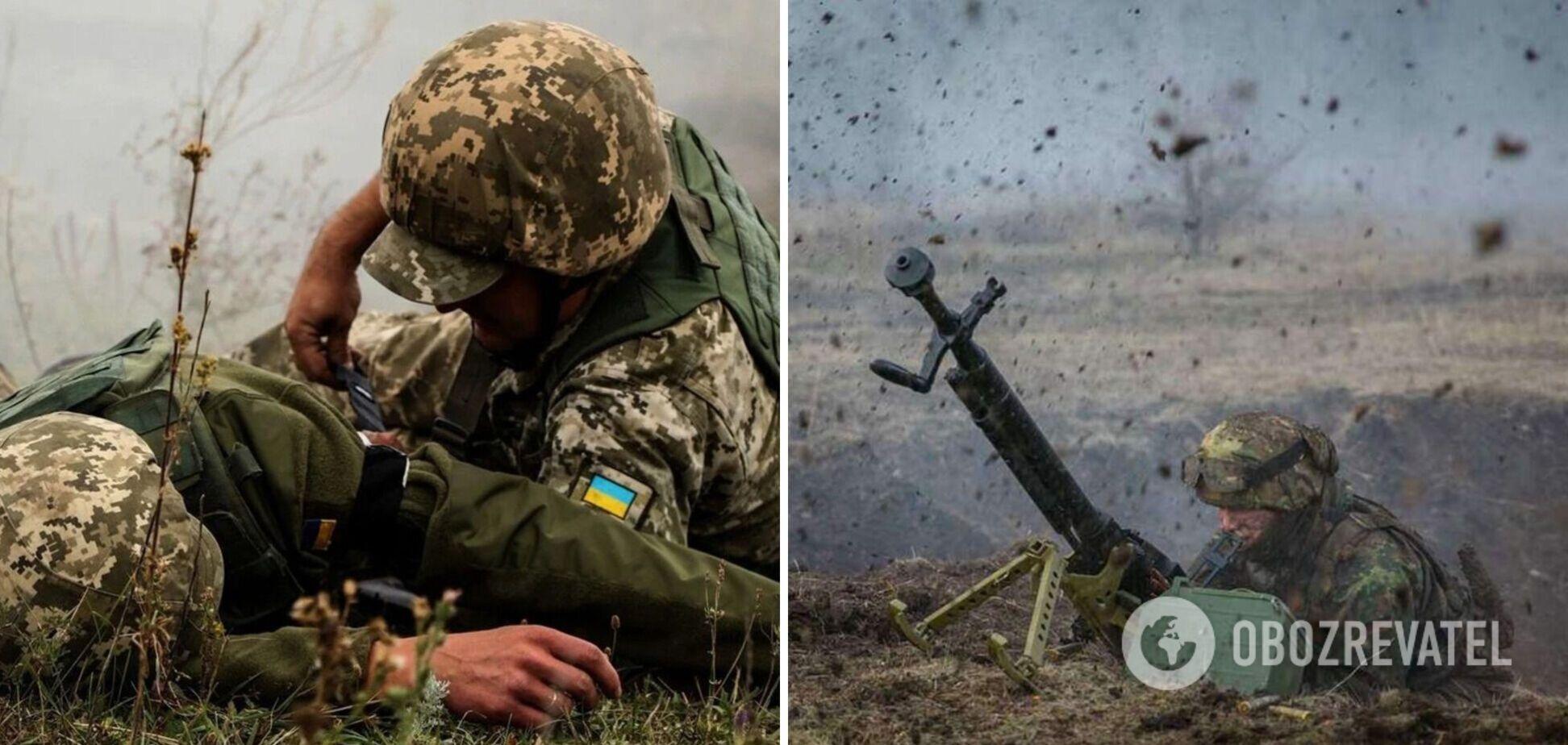 Наемники РФ на Донбассе ударили по ВСУ из запрещенного оружия и ранили военного
