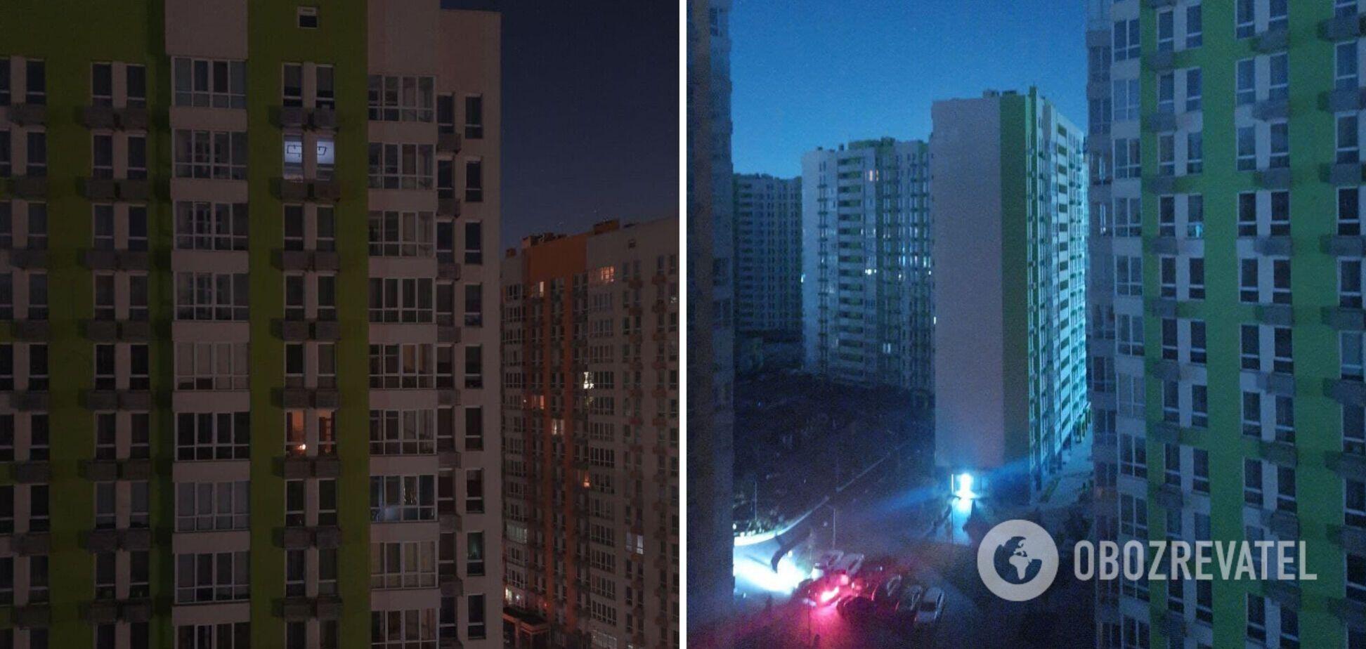 У Києві мешканці нового ЖК на добу залишилися без світла та води. Фото і відео