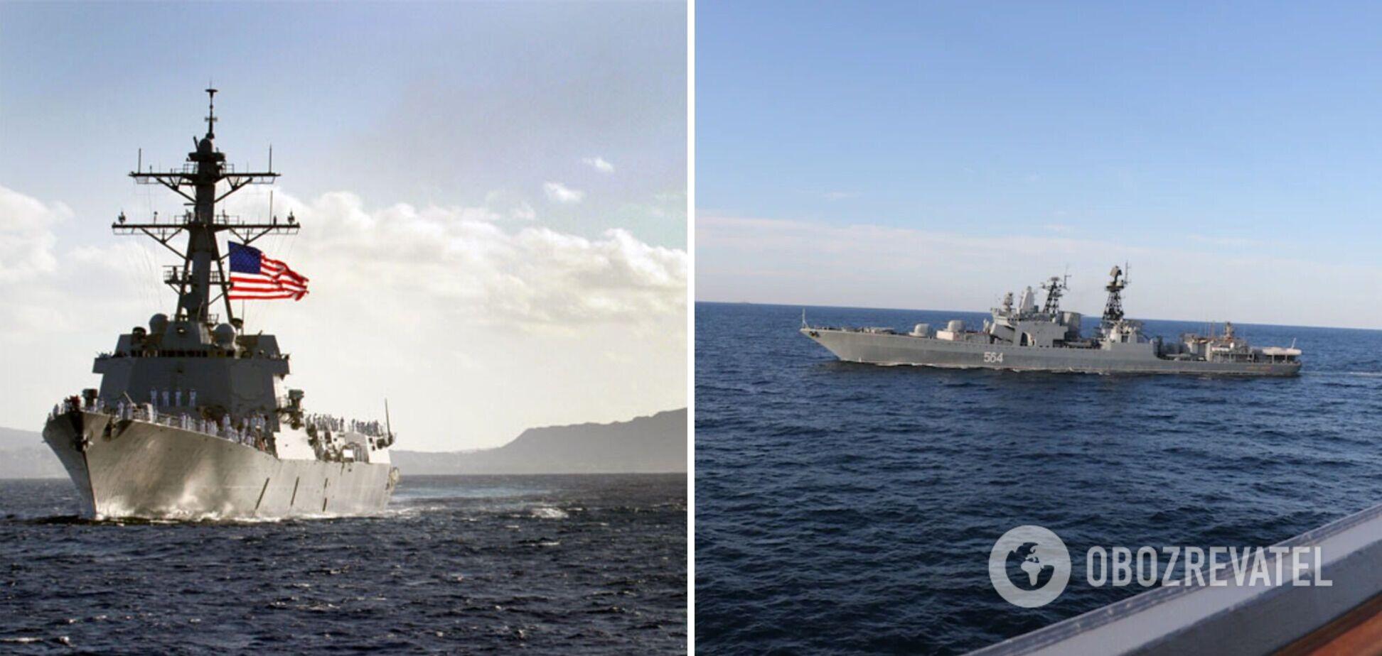 Между РФ и США возник конфликт из-за кораблей в Японском море. Все подробности