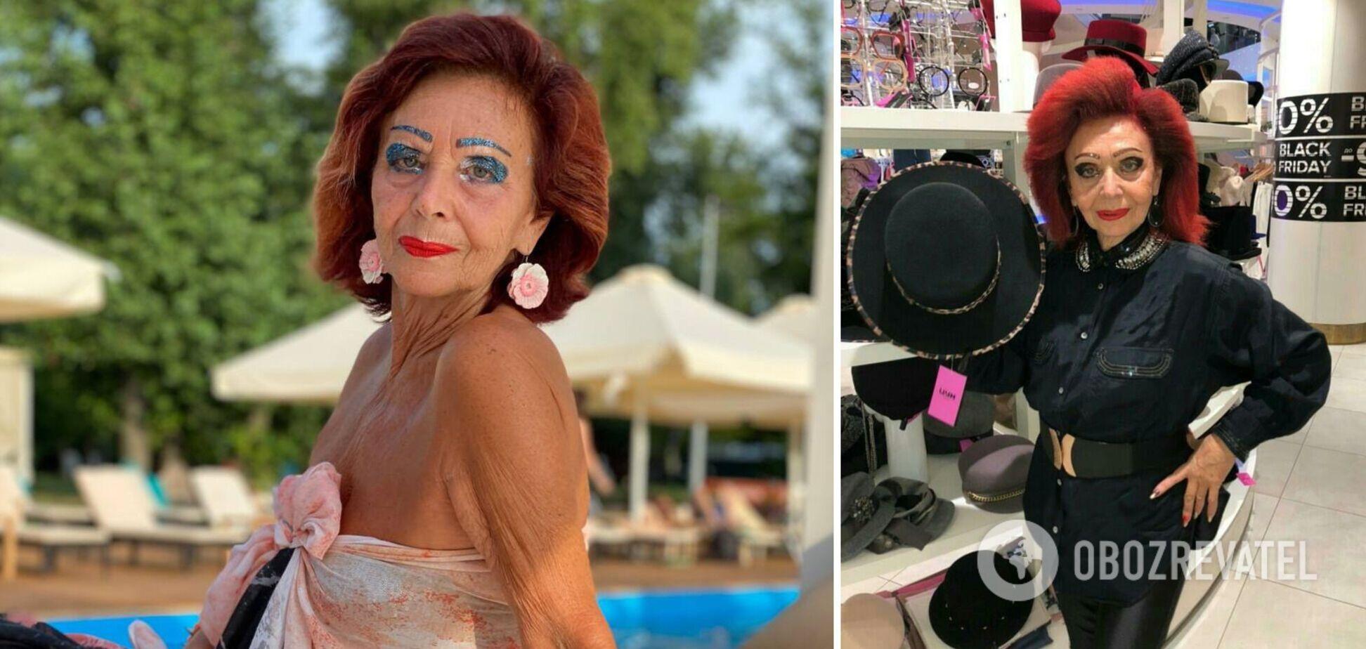 В Киеве умерла известная 73-летняя модель и светская львица. Фото