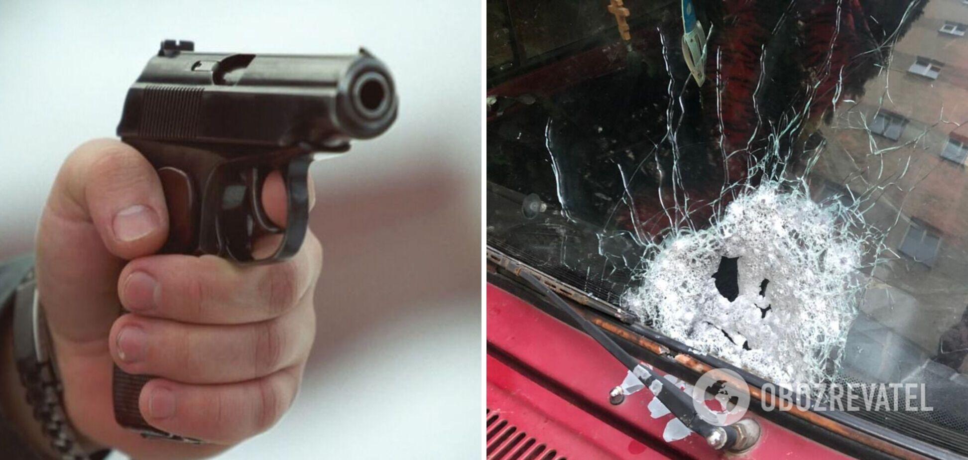 У Чернівцях під час руху обстріляли автомобіль: зловмисника затримали. Фото
