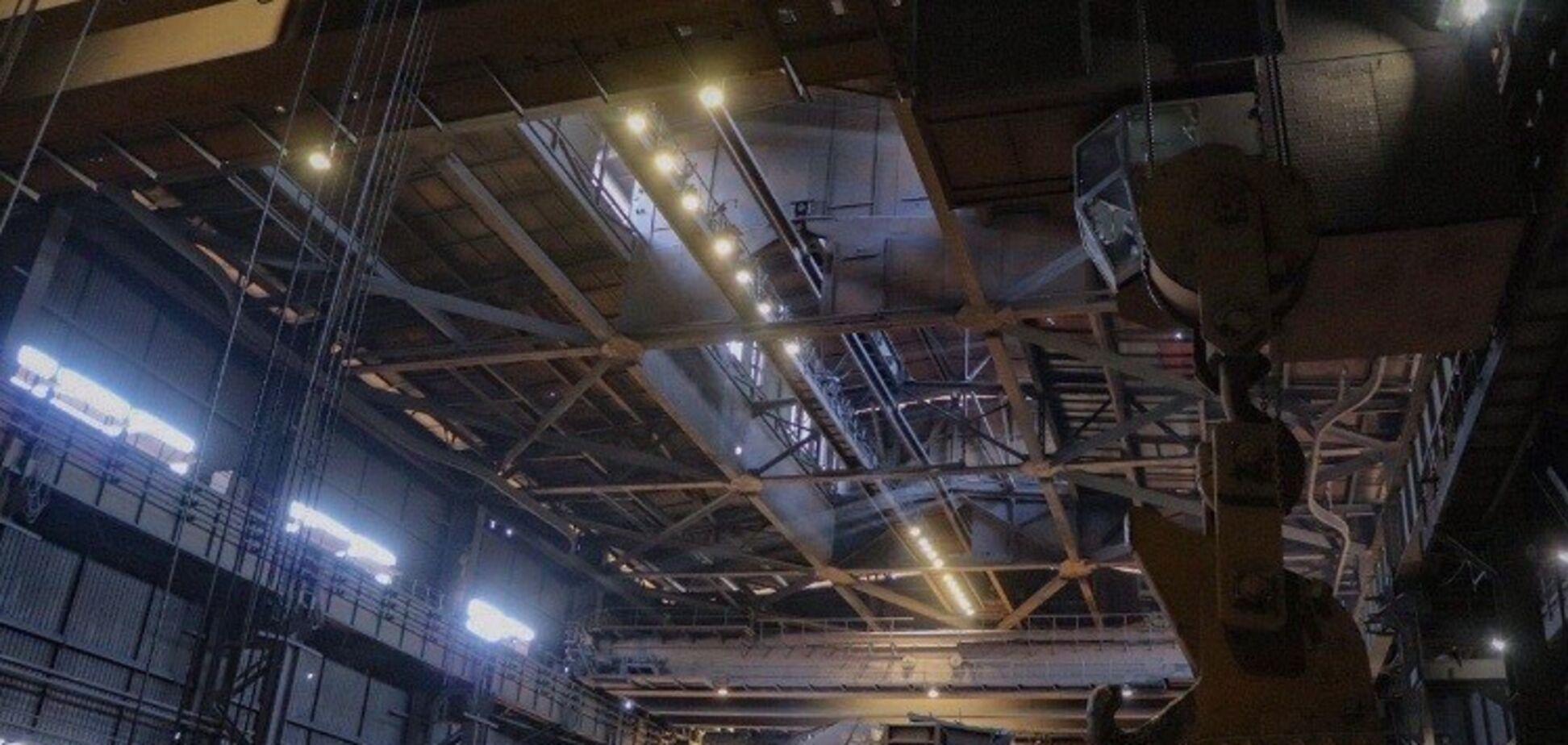 Нове освітлення на Дніпровському коксохімічному заводі
