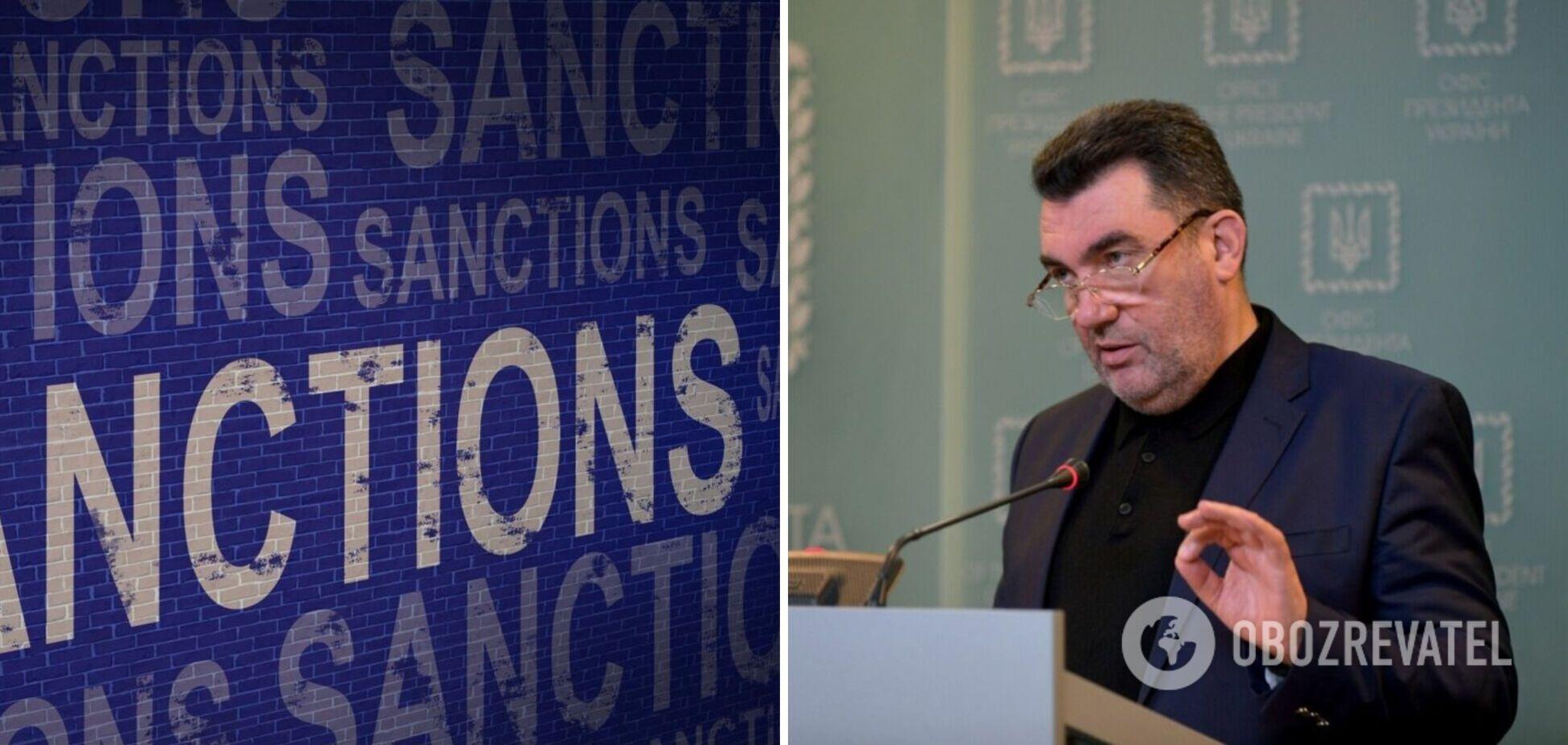 В санкционном списке есть ошибки, затронувшие более 100 человек: Данилов раскрыл детали