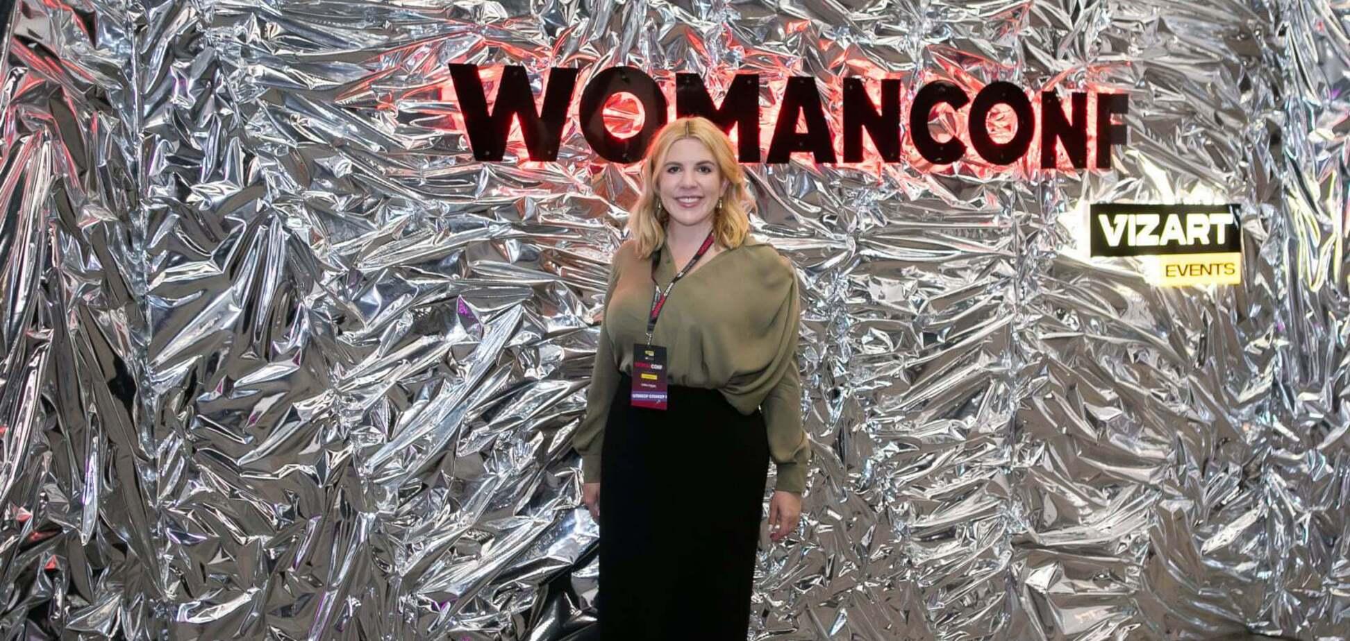 'Жінки можуть усе', – Кіра Рудик на WomanConf у Києві