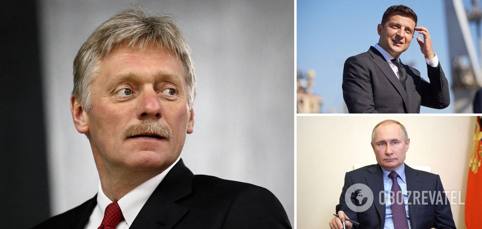 Говорити із Зеленським складно: Пєсков пояснив, чому Путін не йде на контакт із Києвом