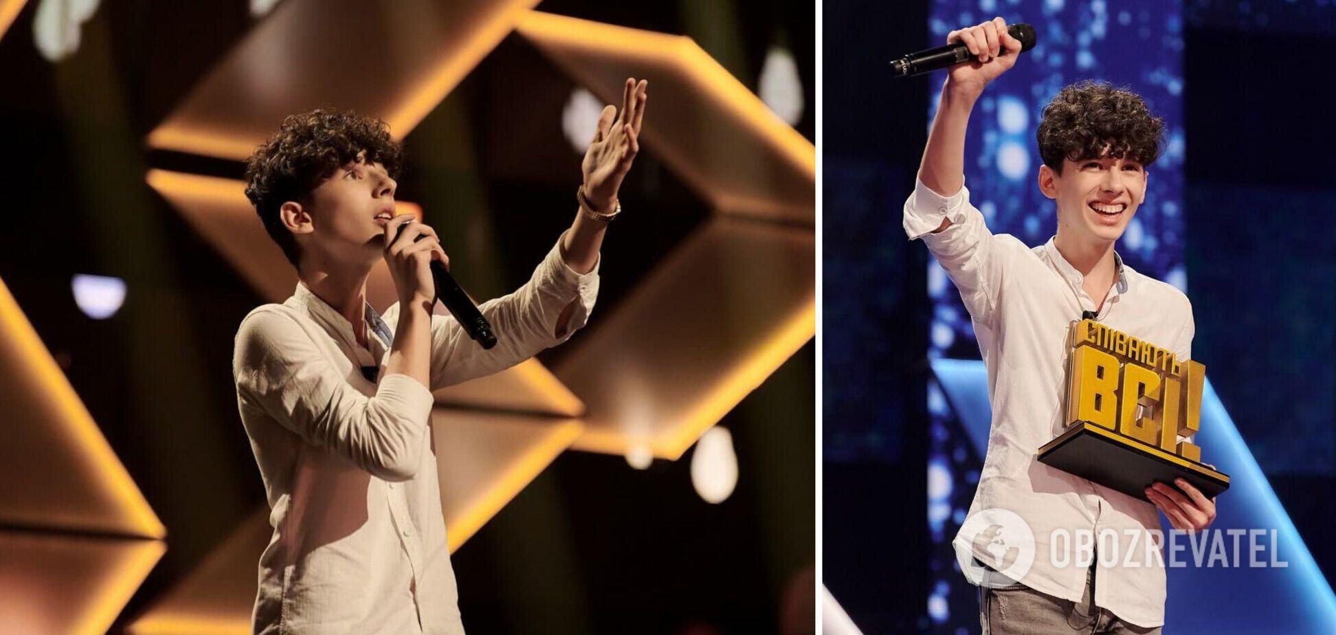 Переможець 'Співають всі' розповів, що робитиме після шоу і куди витратить пів мільйона гривень. Ексклюзивне інтерв'ю