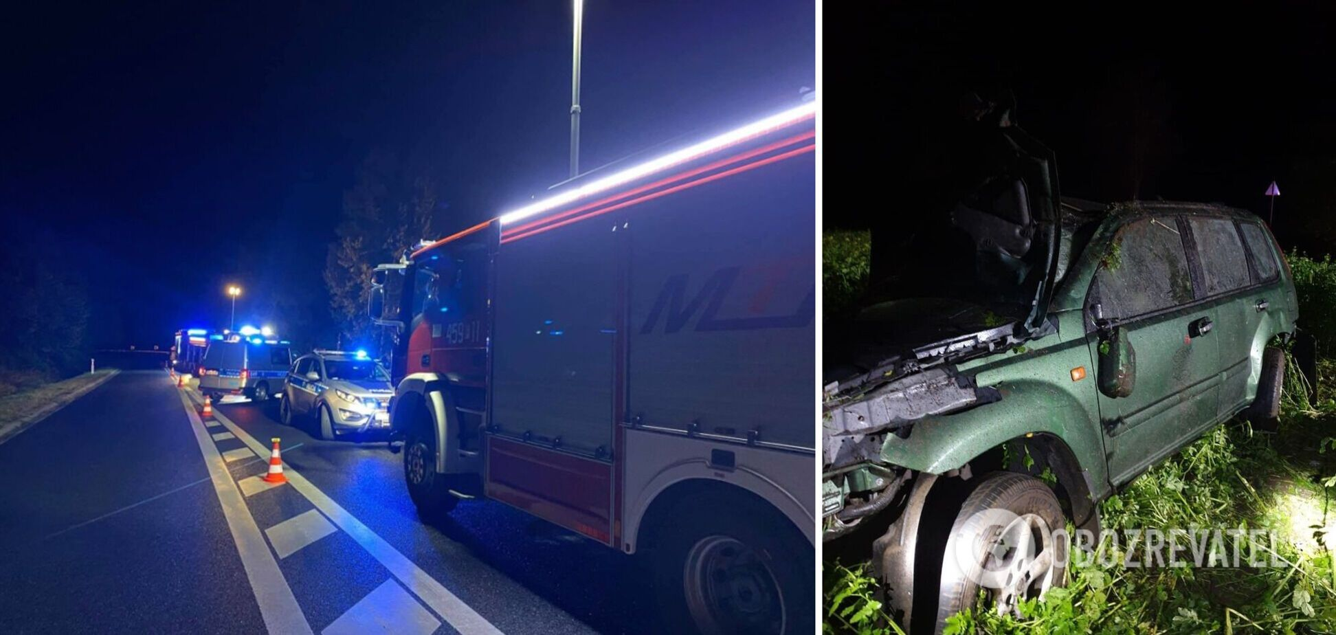 В Польше авто с украинцами попало в ДТП, погибла 19-летняя девушка. Фото