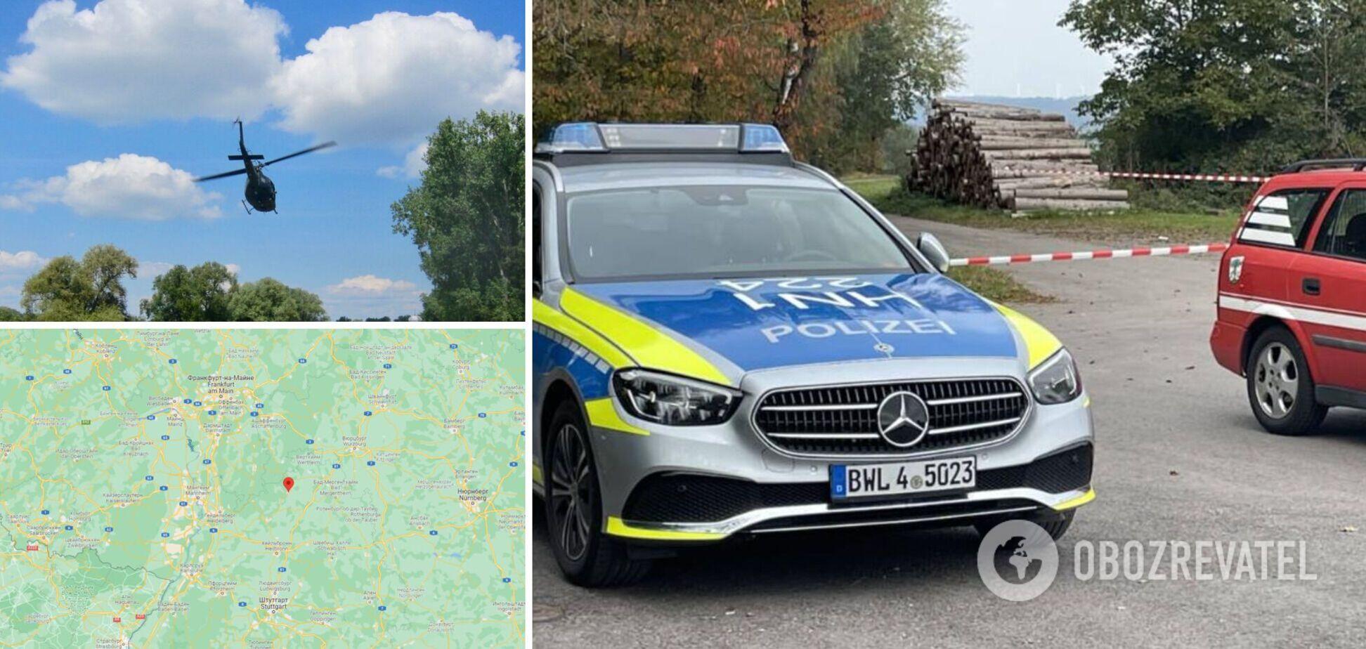 В Германии разбился вертолет, погибли три человека: выяснились подробности