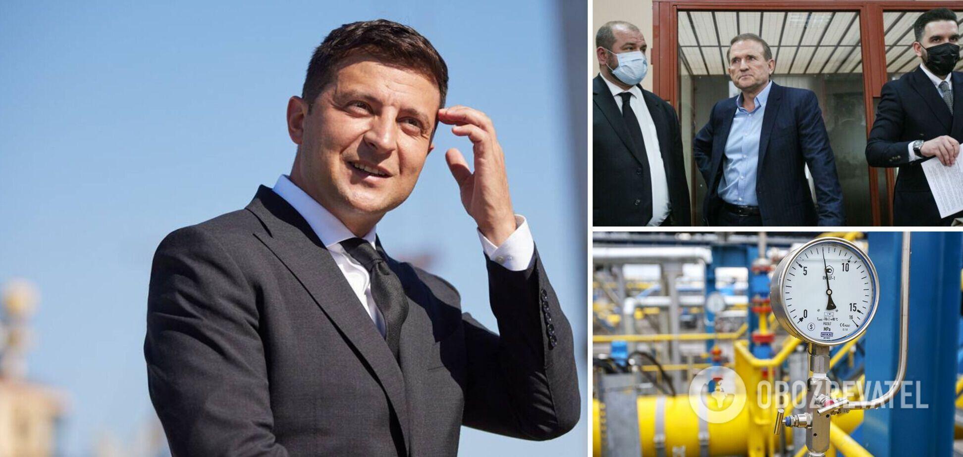 Зеленский прокомментировал свои офшоры и возможный обмен Медведчука. Главное из интервью президента