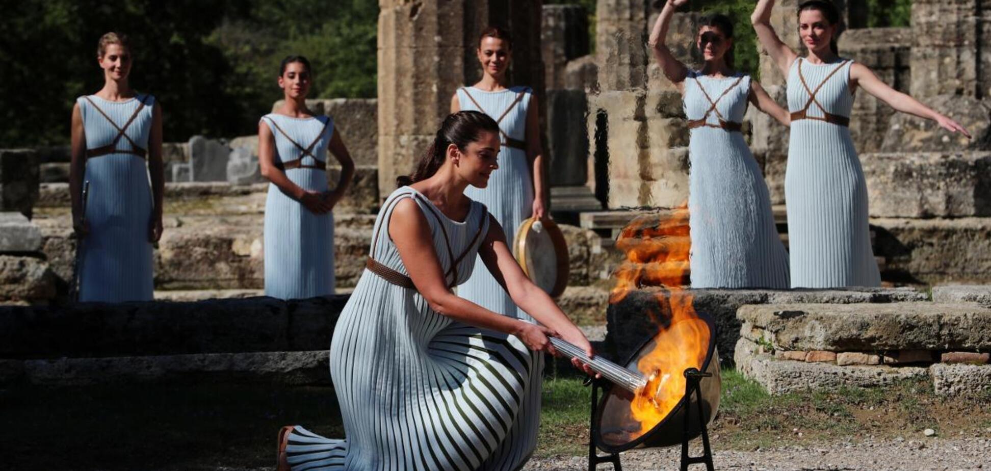 В Греции зажгли огонь к Олимпиаде-2022