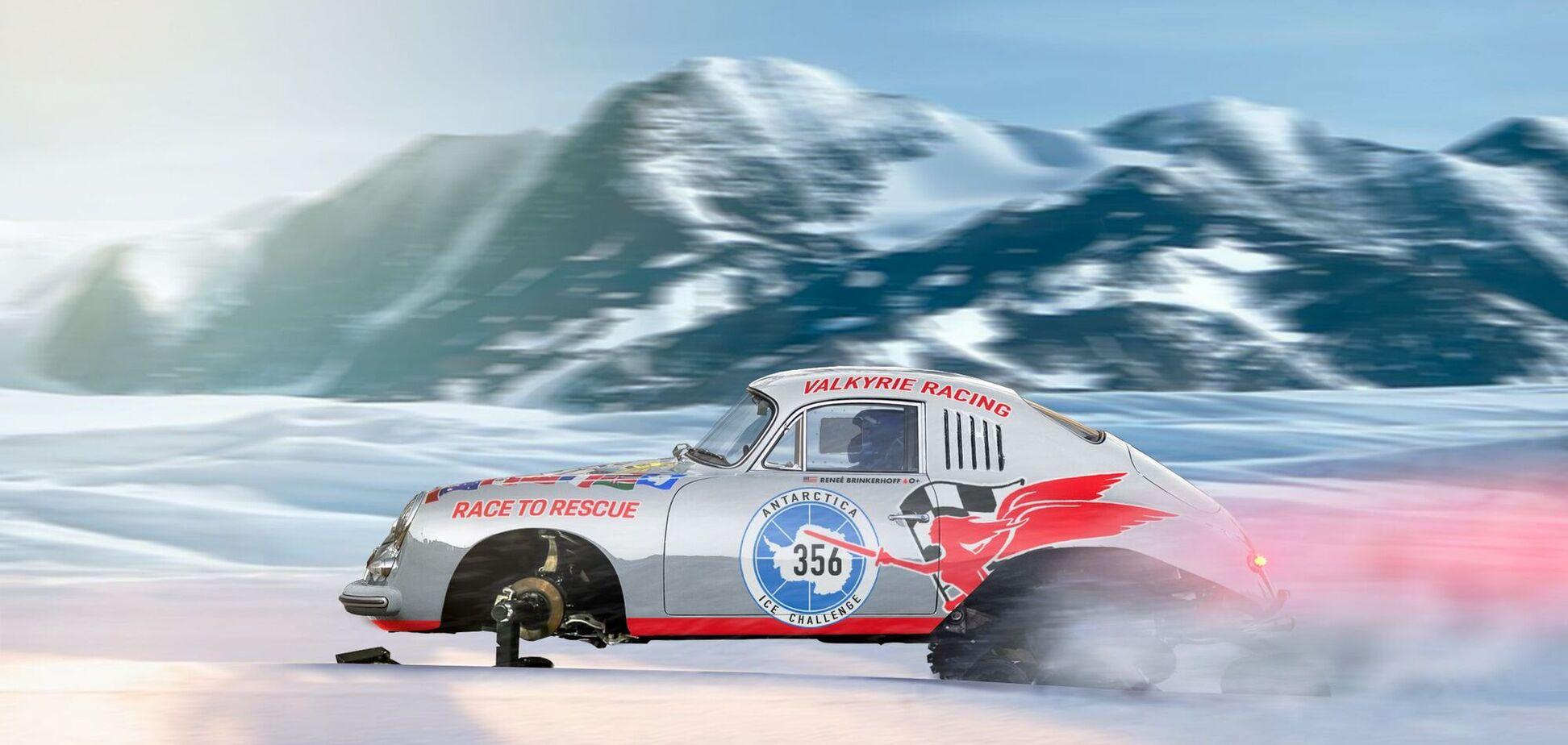 Історична модель Porsche вирушить підкорювати Антарктику