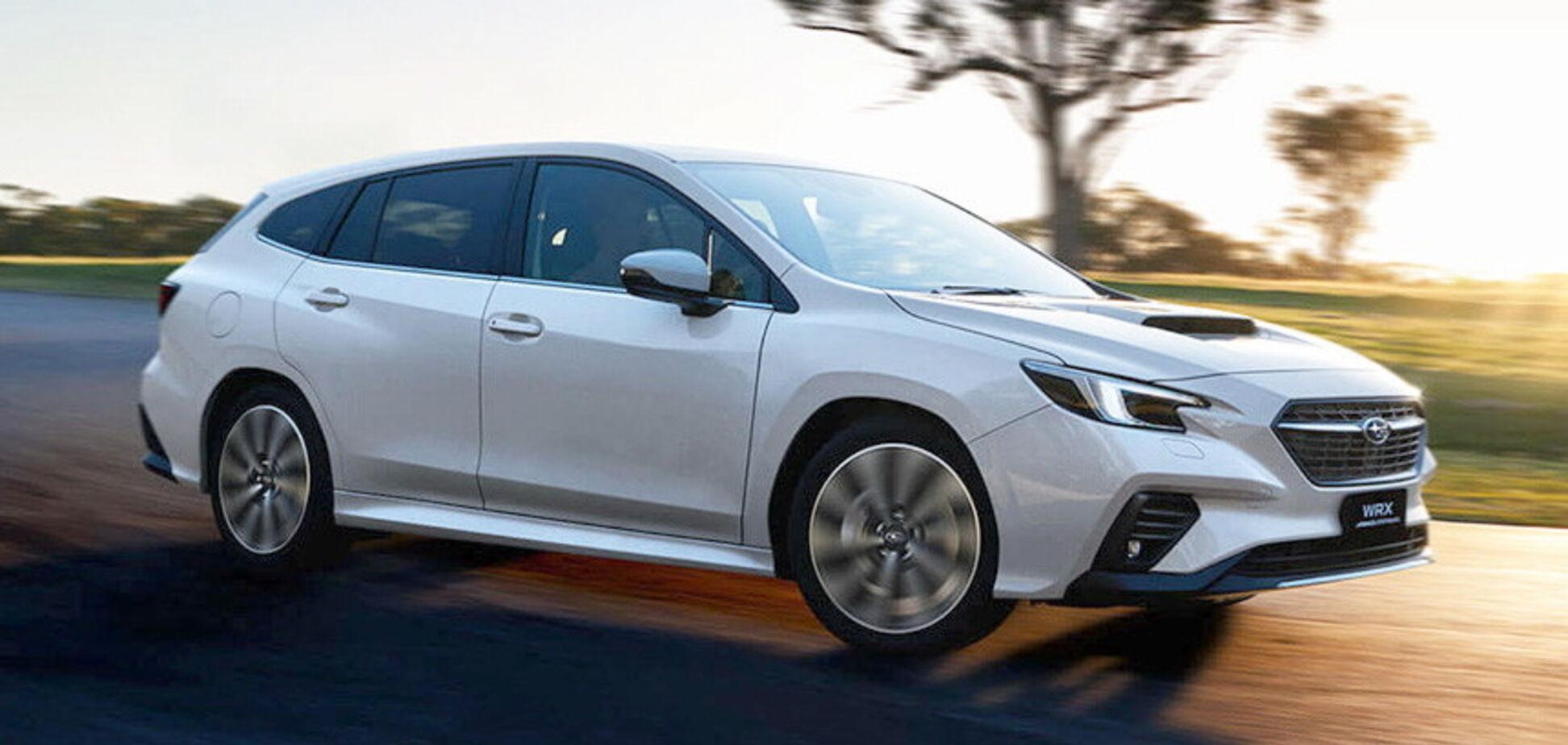 Subaru WRX обзавівся універсалом Sportwagon