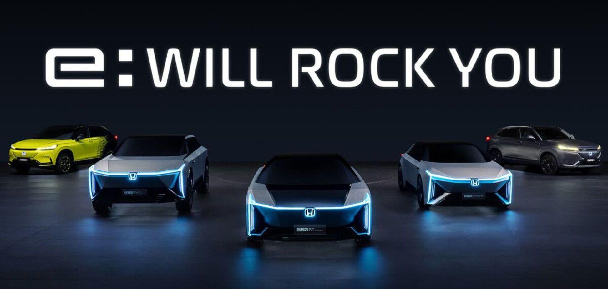 Honda розповіла про своє електричне майбутнє