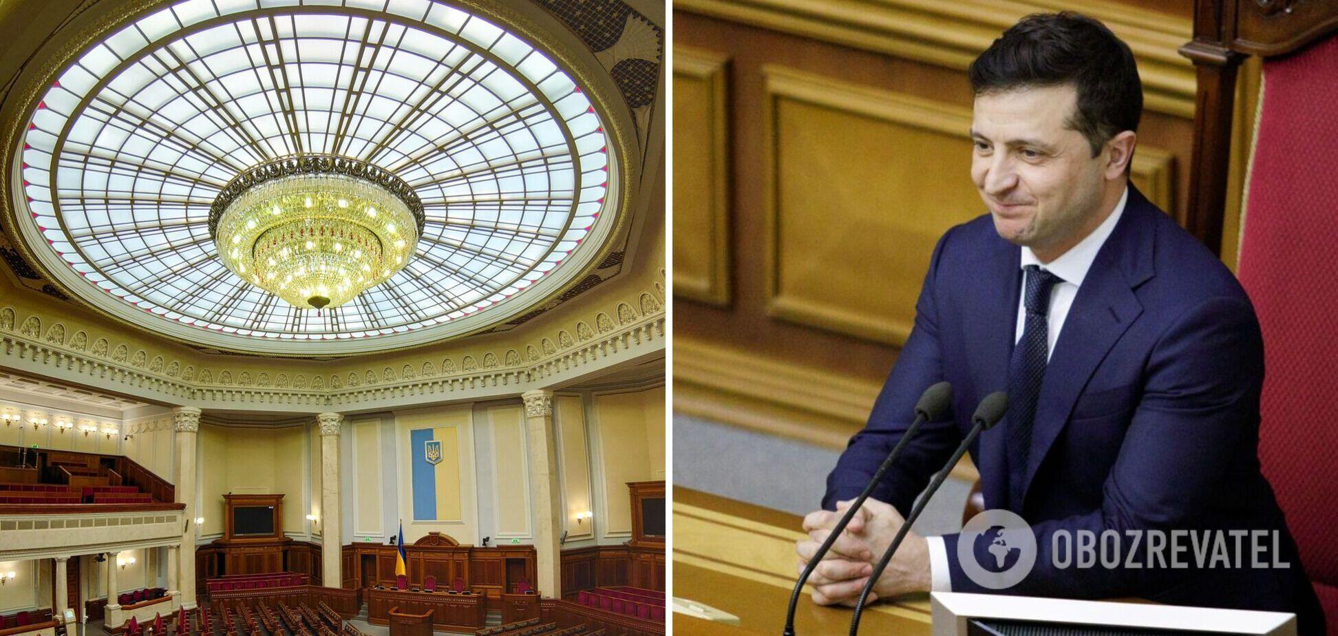 Зеленский созывает внеочередное заседание Рады: какие вопросы рассмотрят
