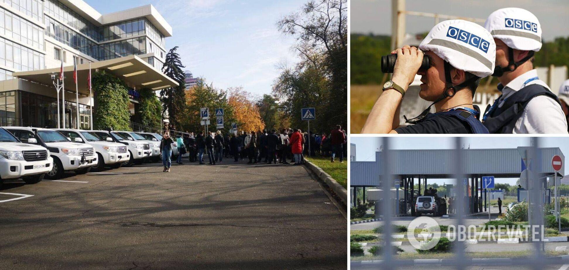 Окупанти на Донбасі розблокували роботу СММ ОБСЄ: вперше за чотири дні виїхала машина