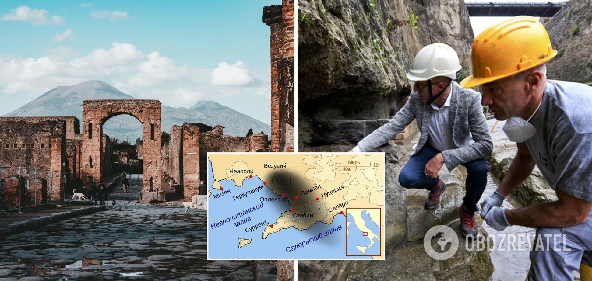 Археологи знайшли останки чоловіка, який утікав від виверження Везувію: загинув за крок від води. Фото