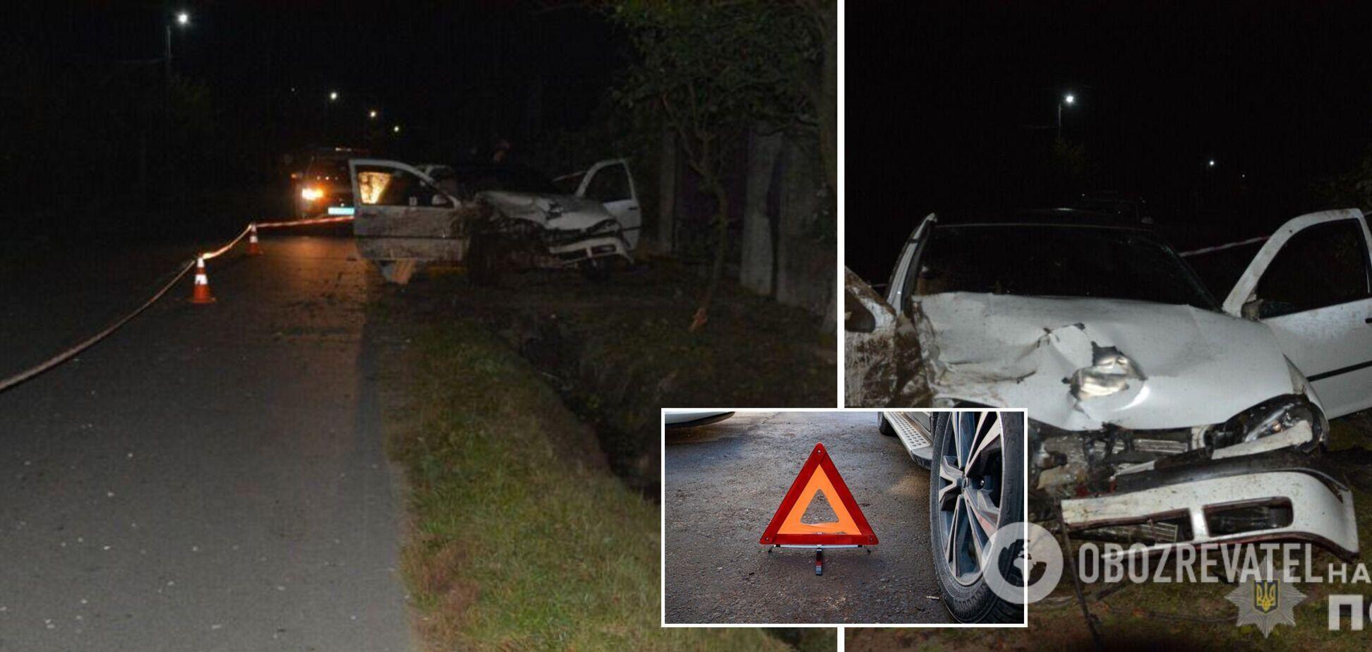 На Закарпатье водитель под наркотиками устроил ДТП: погибла 17-летняя девушка. Фото