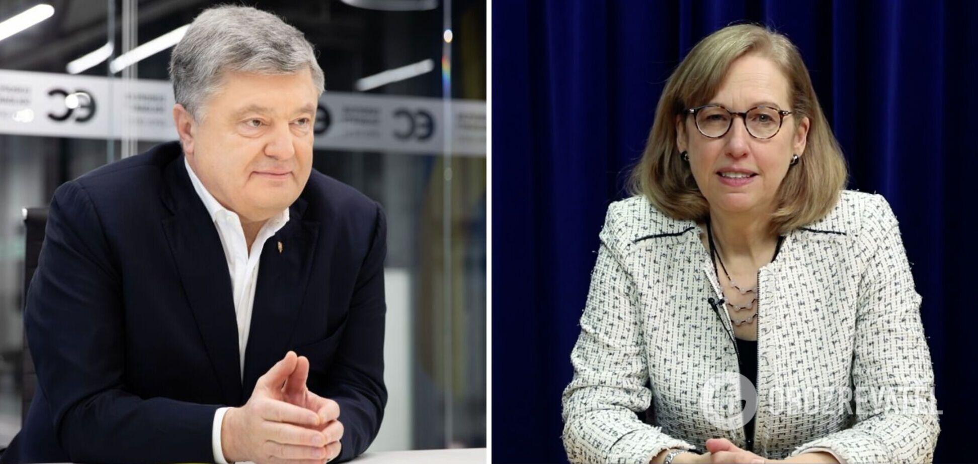 Петр Порошенко с Кристиной Квин обсудили дальнейшую помощь США Украине