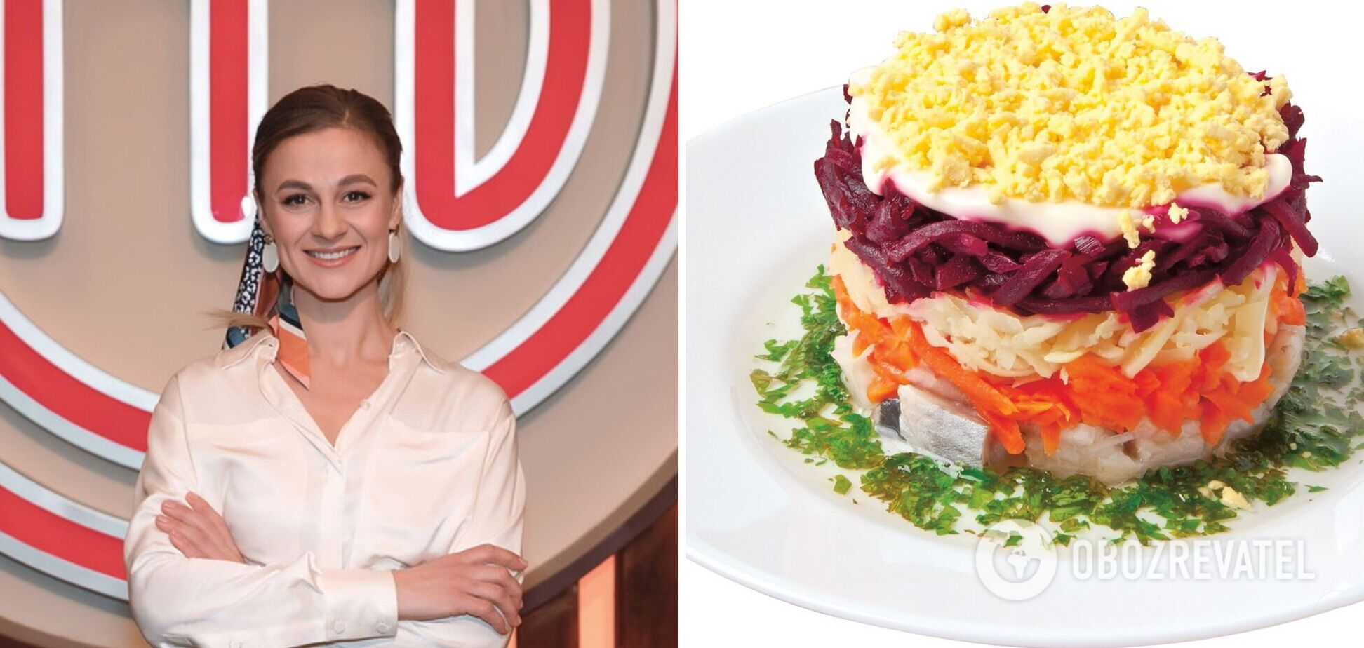 Ольга Мартиновська поділилася незвичайними рецептами салатів