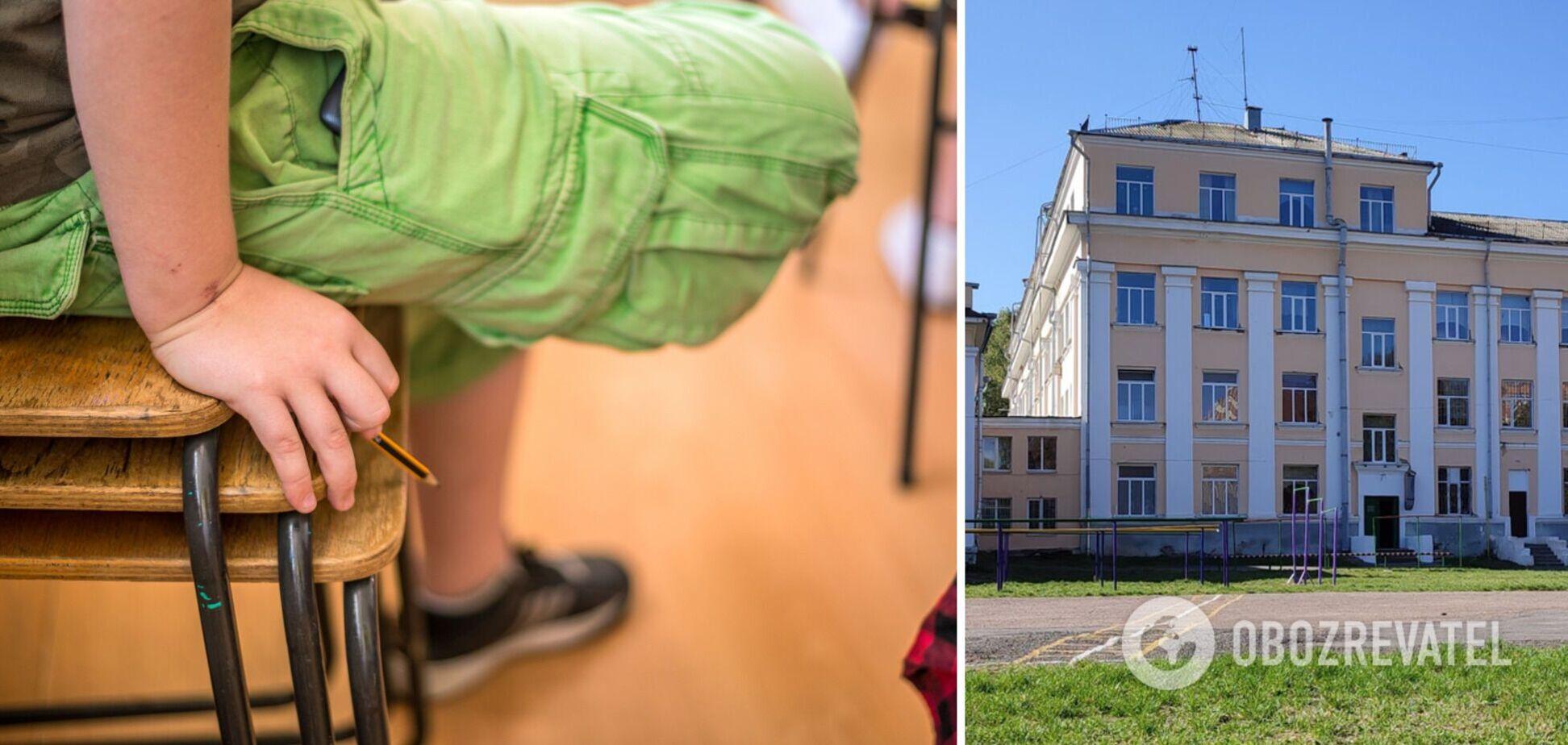 В полтавском лицее пятиклассник запугивает детей и учителей