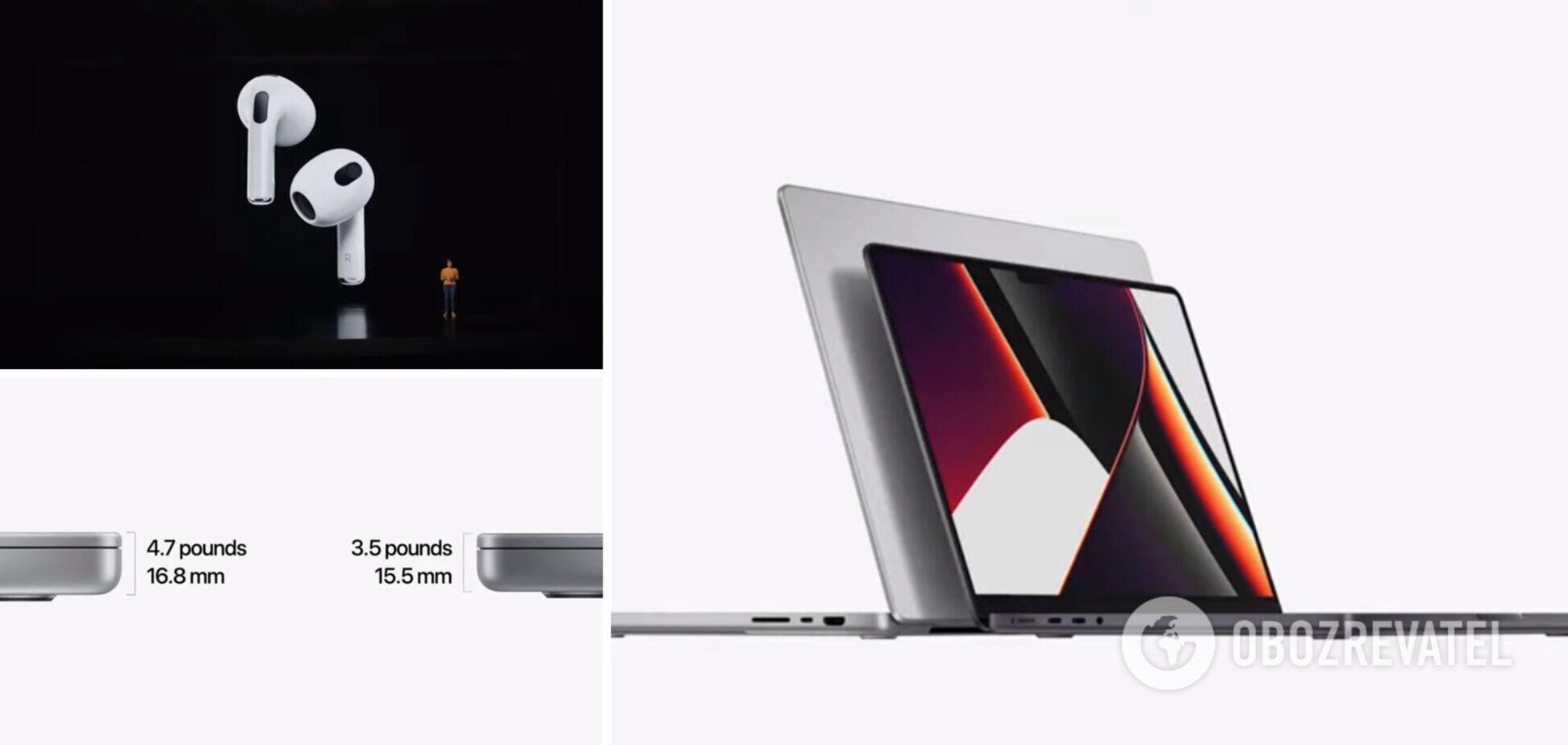 Apple презентовала MacBook Pro нового поколения и новые AirPods. Фото