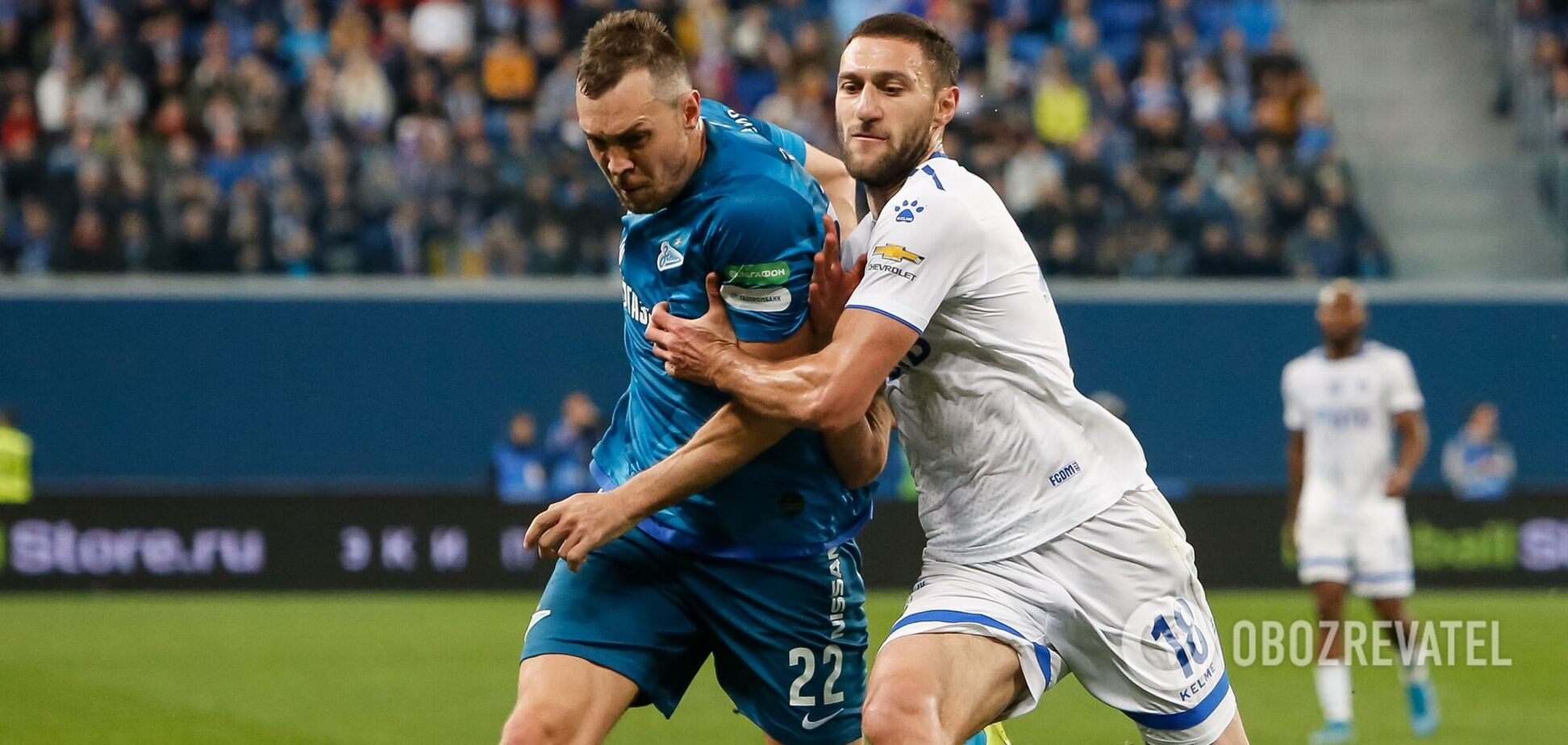 Колишній футболіст збірної України подякував москвичам за підтримку