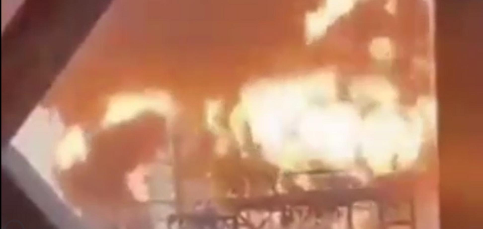 Пожежа на заводі в Кувейті