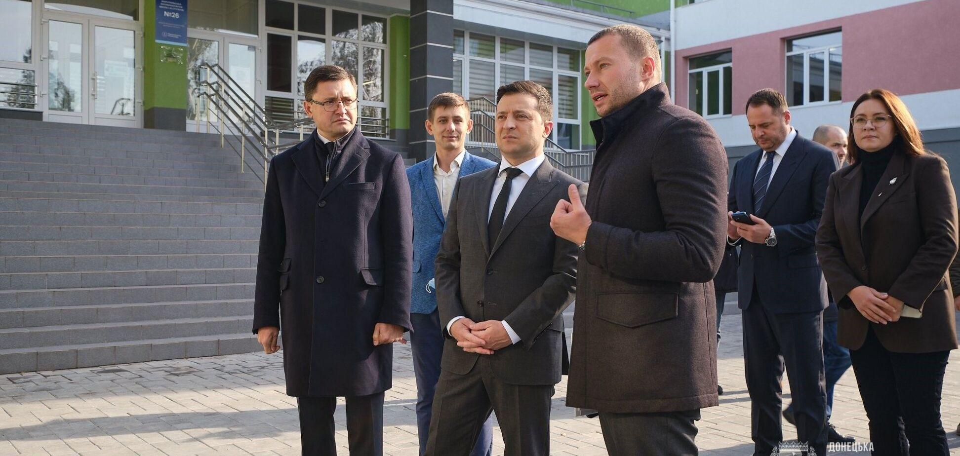 Зеленський відвідав загальноосвітню школу №26 у Маріуполі