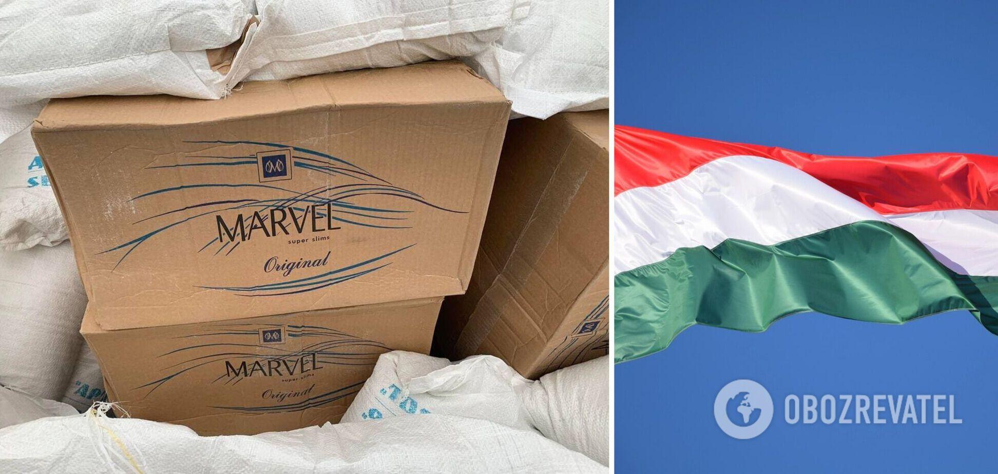 З України в Угорщину постачали контрабандні сигарети