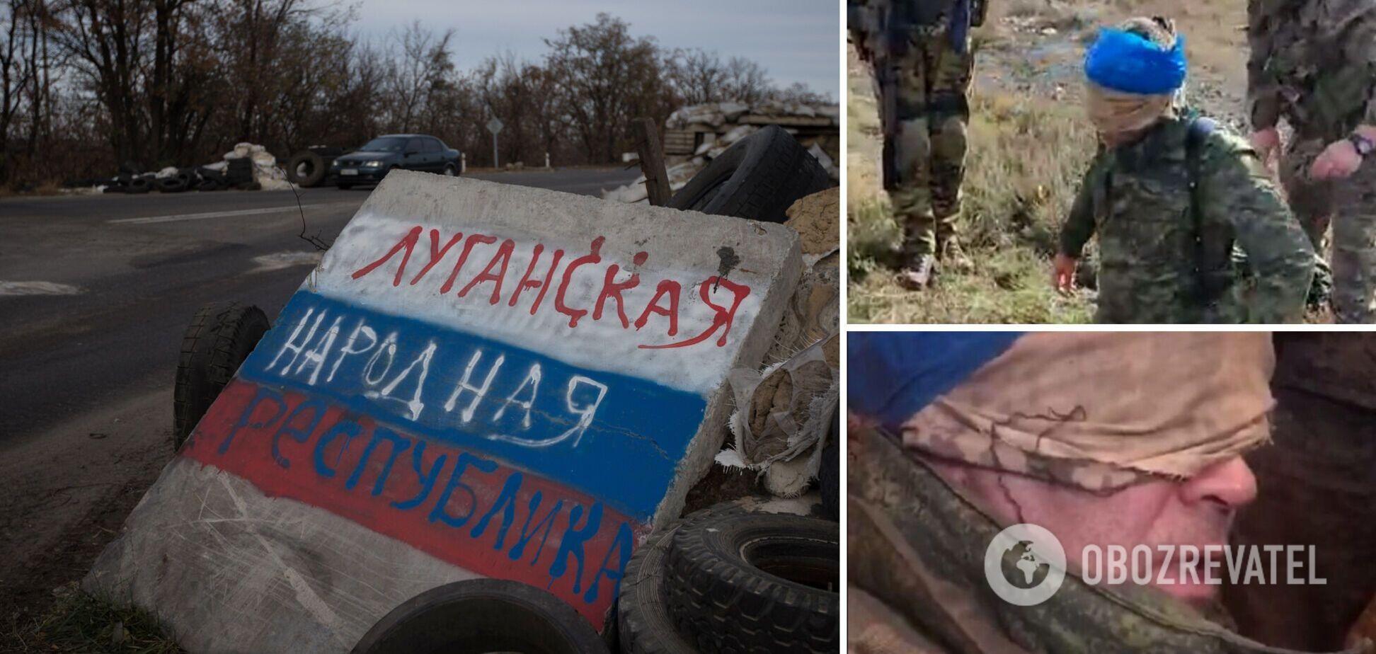 З'явилося відео затримання бойовика 'ЛНР', через якого не давали працювати ОБСЄ