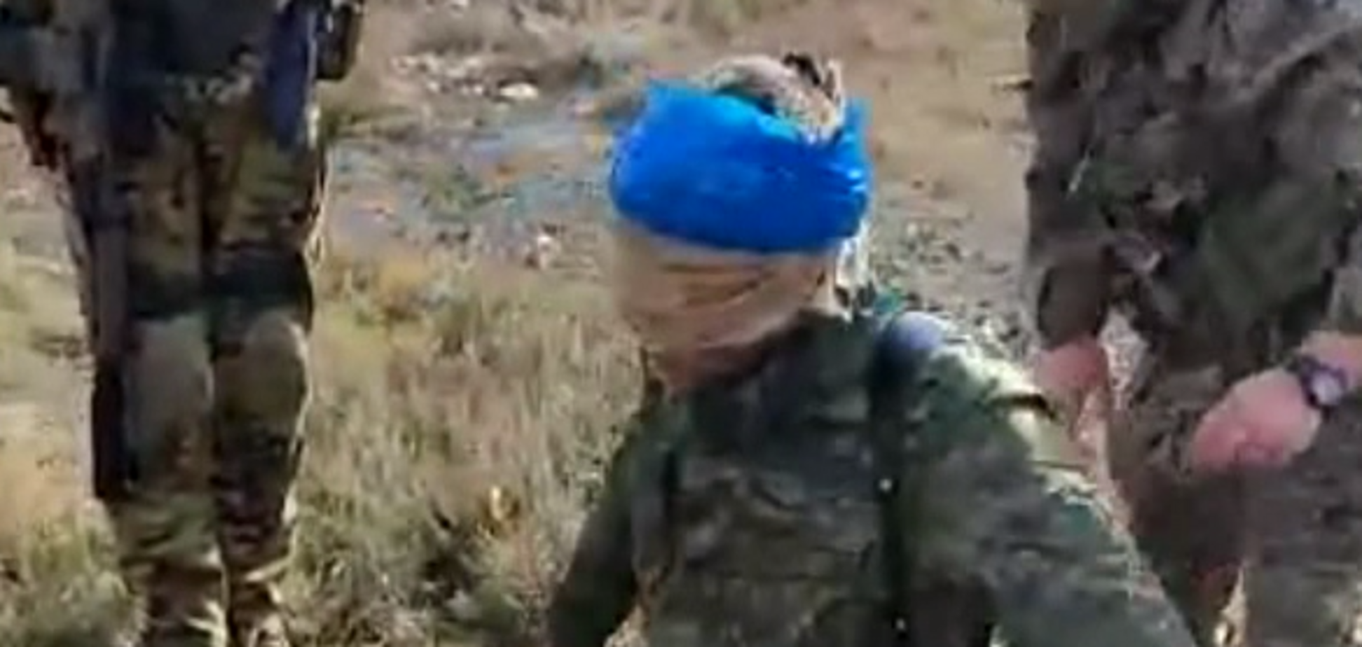 Як затримували бойовика 'ЛНР' на Донбасі: оприлюднено відео
