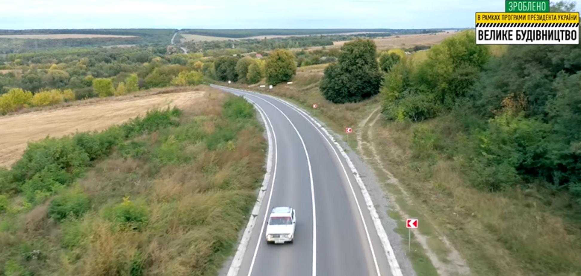 В Винницкой области завершился ремонт участка дороги протяженностью 11,79 км