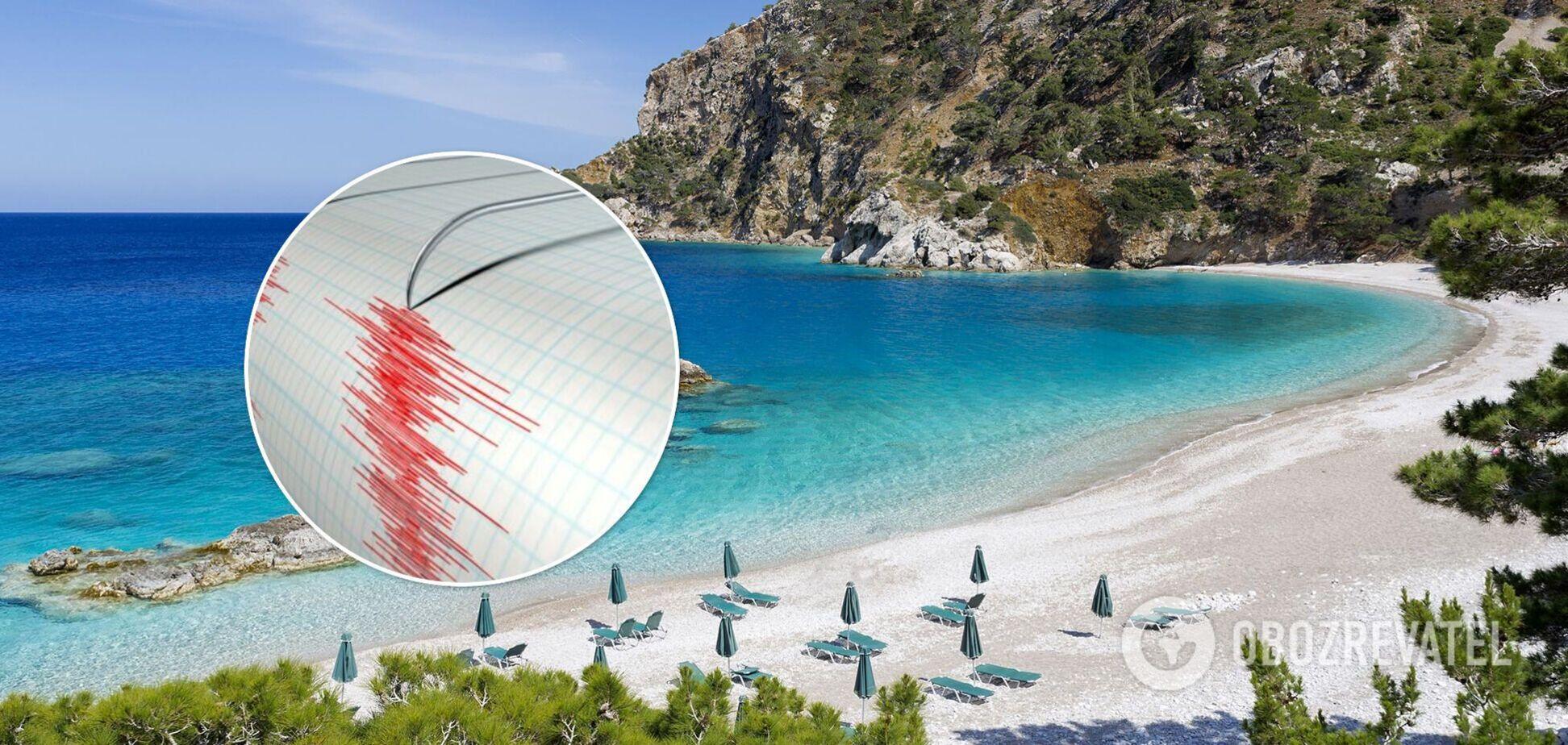 Біля берегів Греції трапився землетрус магнітудою 6,3
