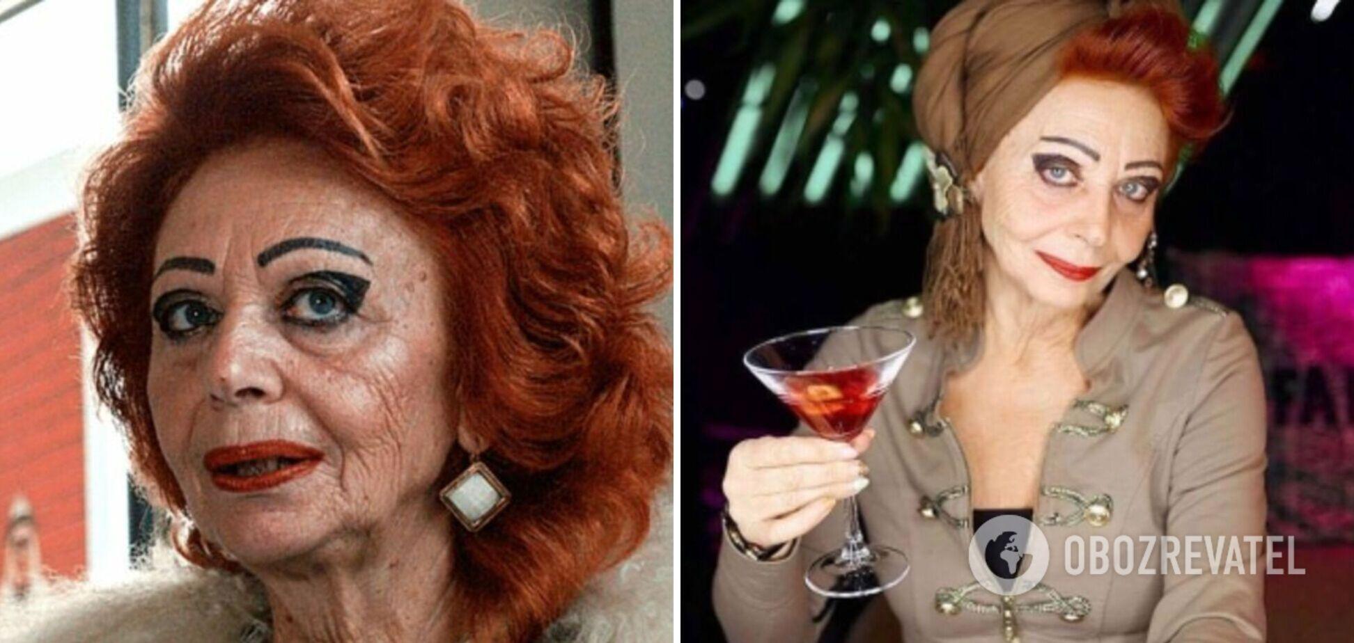 У Києві попрощалися з 73-річною моделлю і світською левицею Оленою Вовк. Ексклюзивні фото