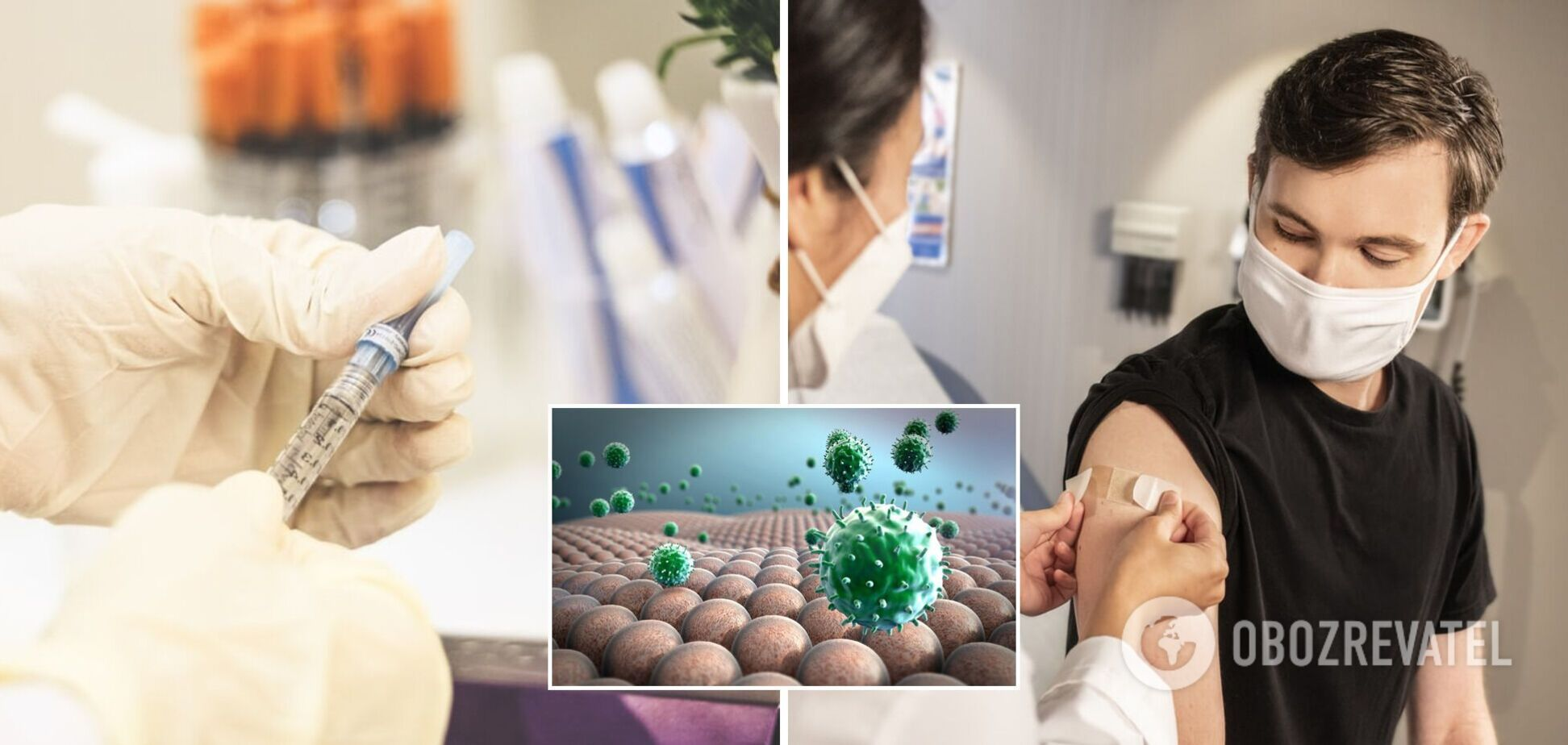 Лікарка пояснила, чи можна вакцинуватися від грипу після щеплення проти COVID-19