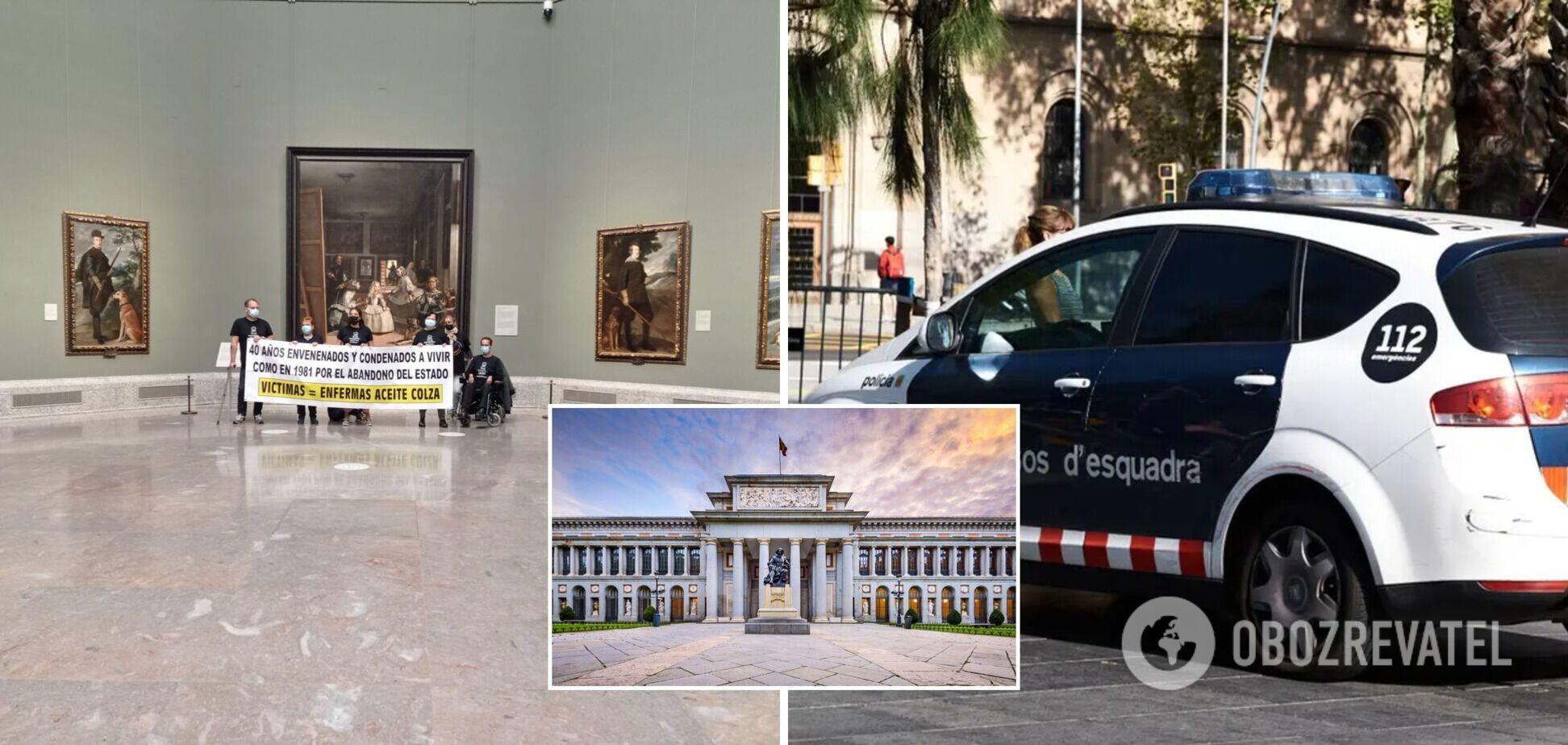 В Испании шесть человек заняли музей Прадо и угрожают покончить с собой. Фото
