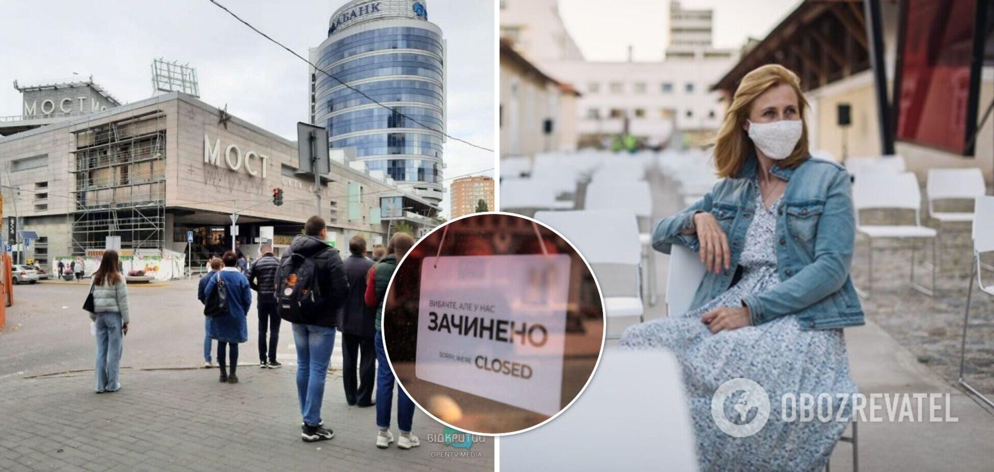 'Червона' зона карантину: як у Дніпрі працюють заклади громадського харчування, торговельного і побутового обслуговування