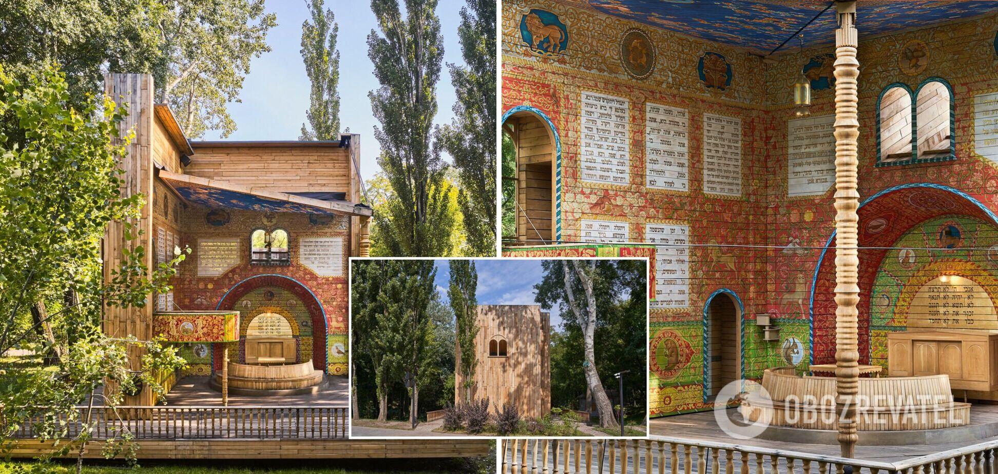Символічна синагога 'Місце для роздумів' перемогла в номінації 'Культурний об'єкт' престижної премії