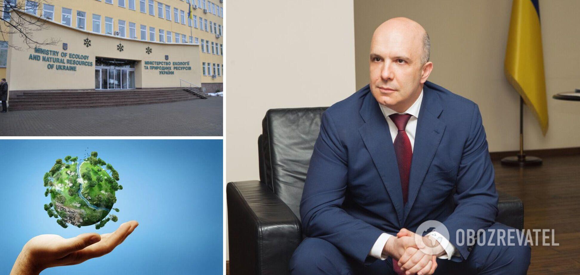 Міністр екології Абрамовський написав заяву про відставку